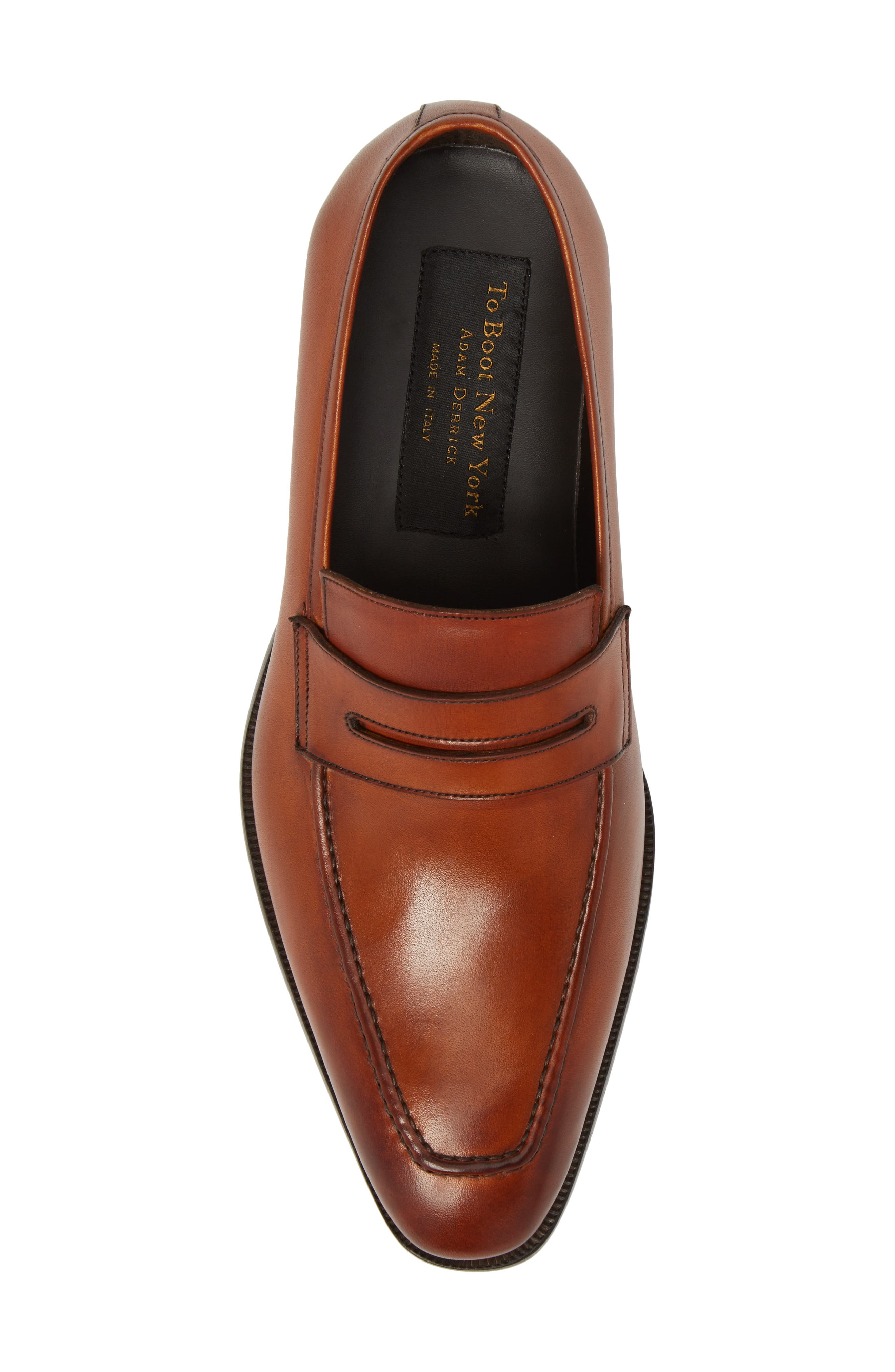 Eastwood Apron Toe Penny Loafer,                             Alternate thumbnail 5, color,                             231