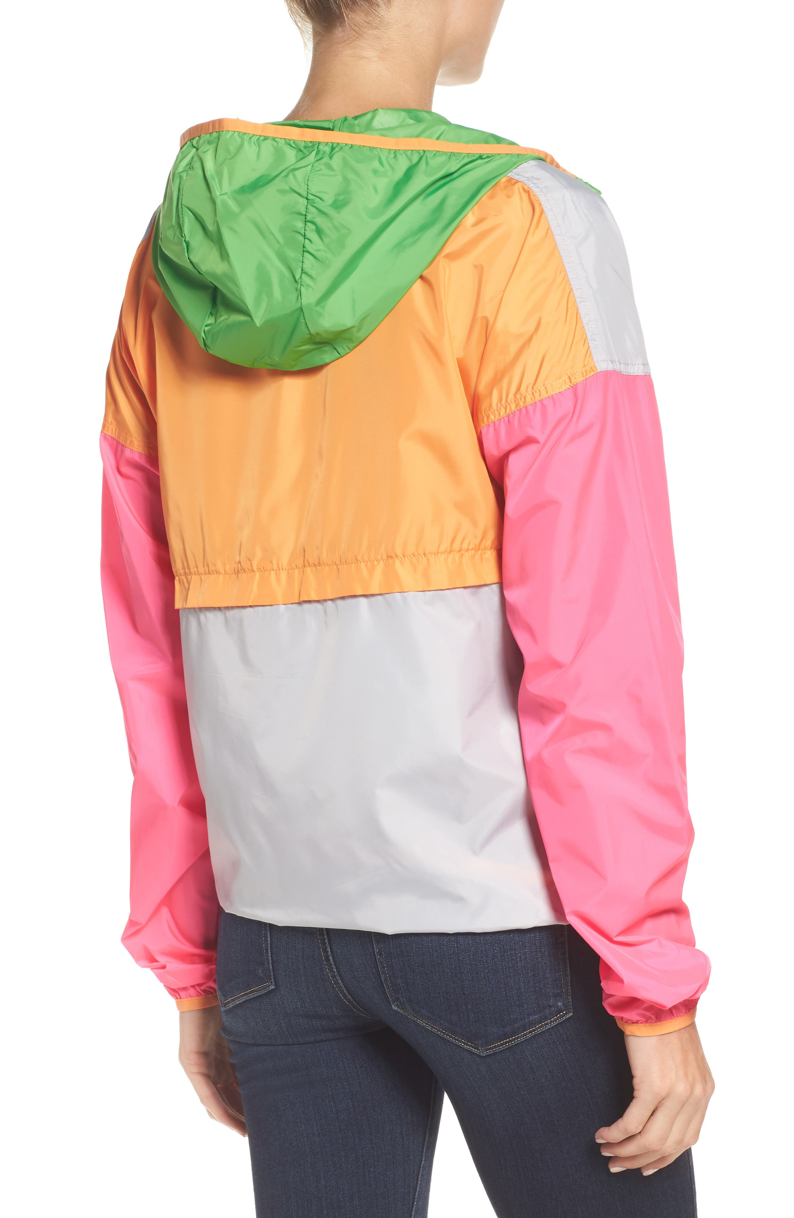 Teca Packable Water Resistant Windbreaker Jacket,                             Alternate thumbnail 11, color,