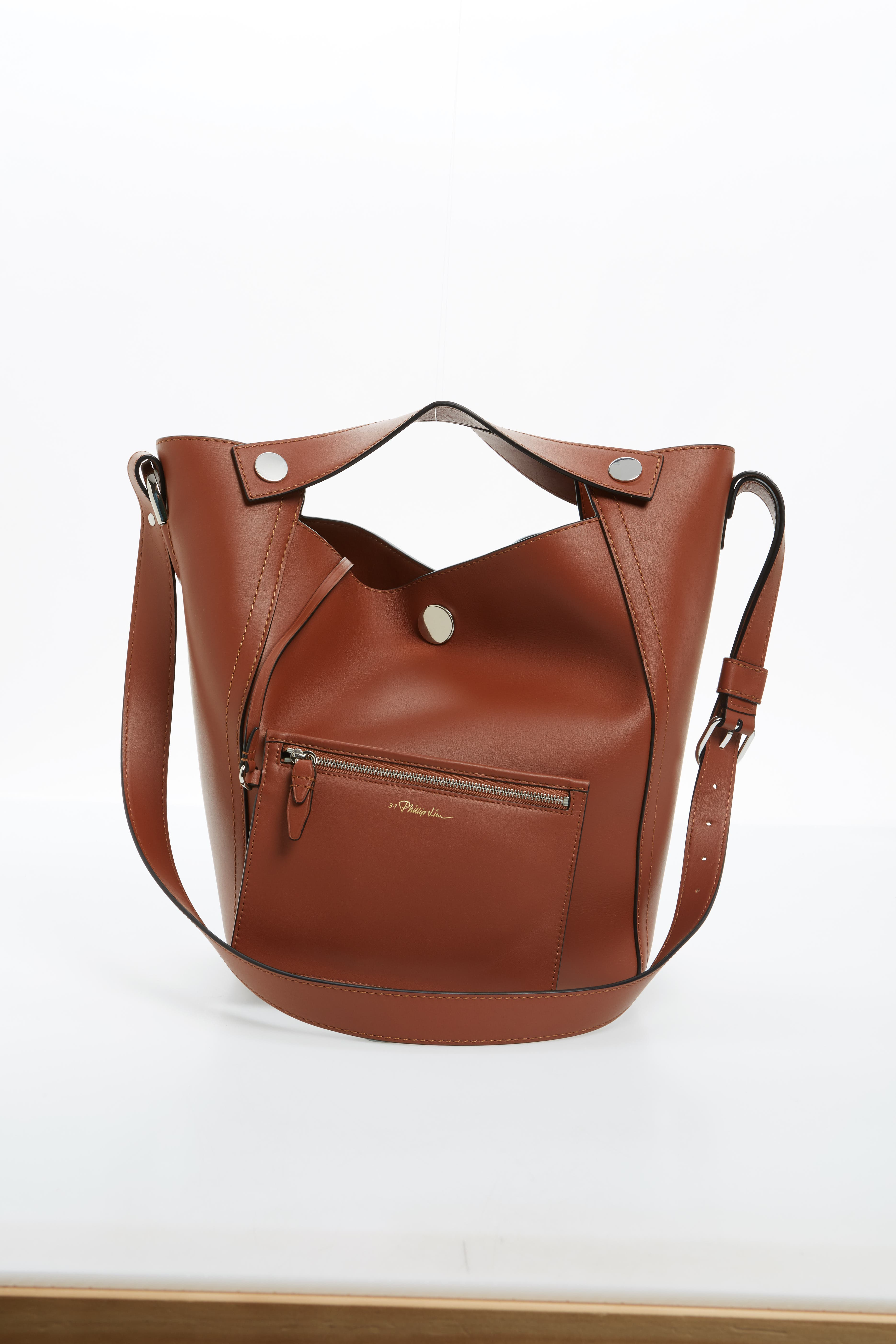 Large Dolly Leather Tote,                             Alternate thumbnail 4, color,                             200