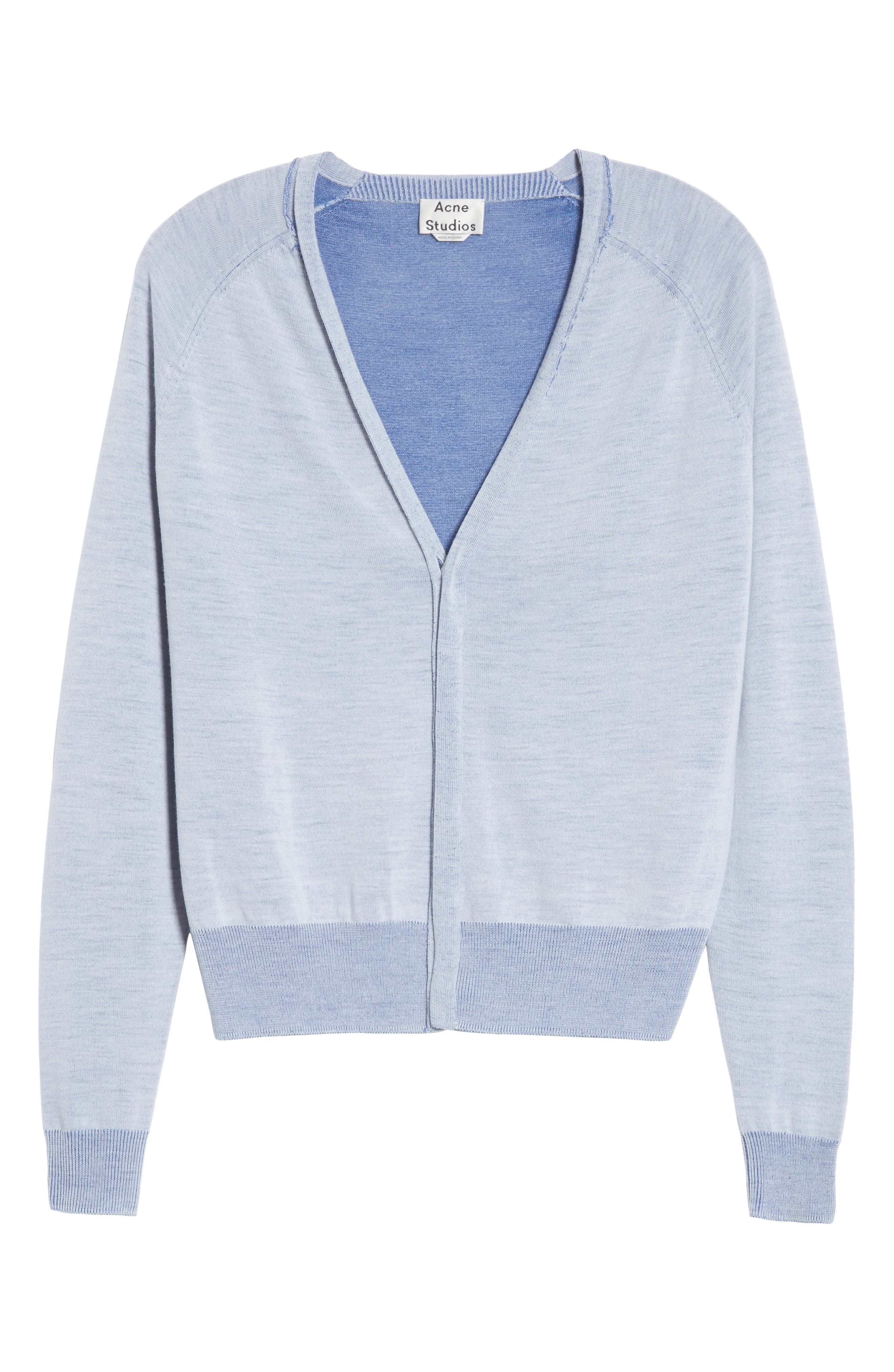 Florence V-Neck Cardigan,                             Alternate thumbnail 6, color,                             400