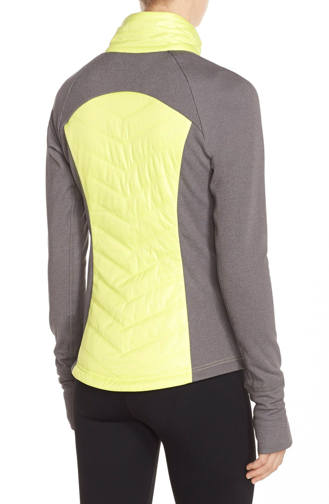 Zelfusion Reflective Quilted Jacket,                             Alternate thumbnail 41, color,