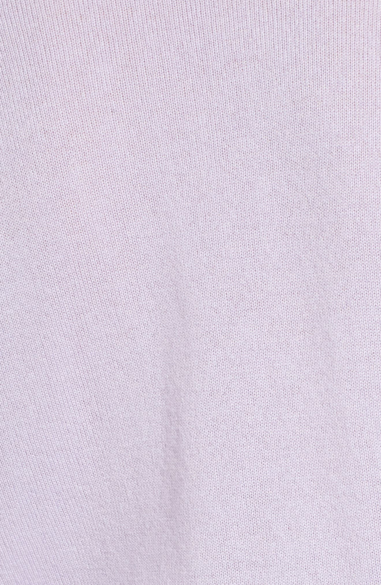 Ruffle Sleeve Cashmere Sweater,                             Alternate thumbnail 10, color,