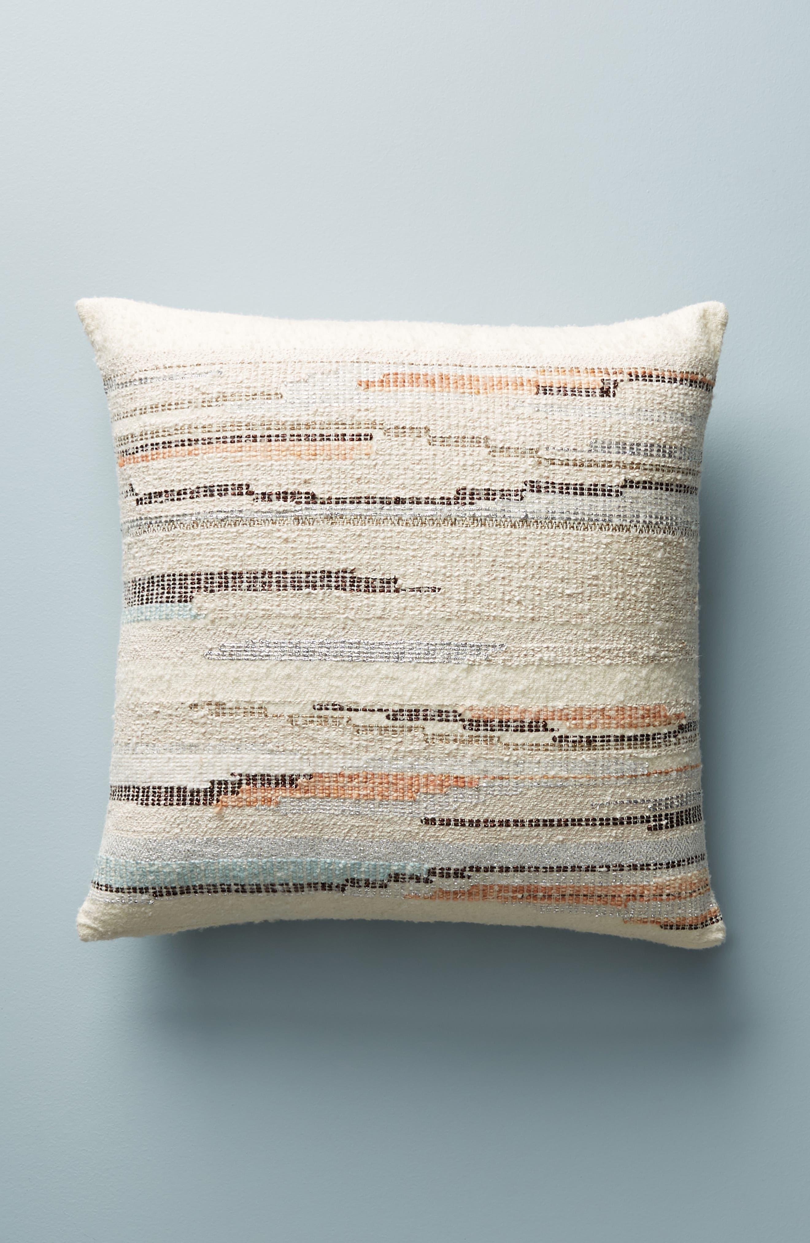 Jess Feury Sunstreak Accent Pillow,                             Main thumbnail 1, color,                             100