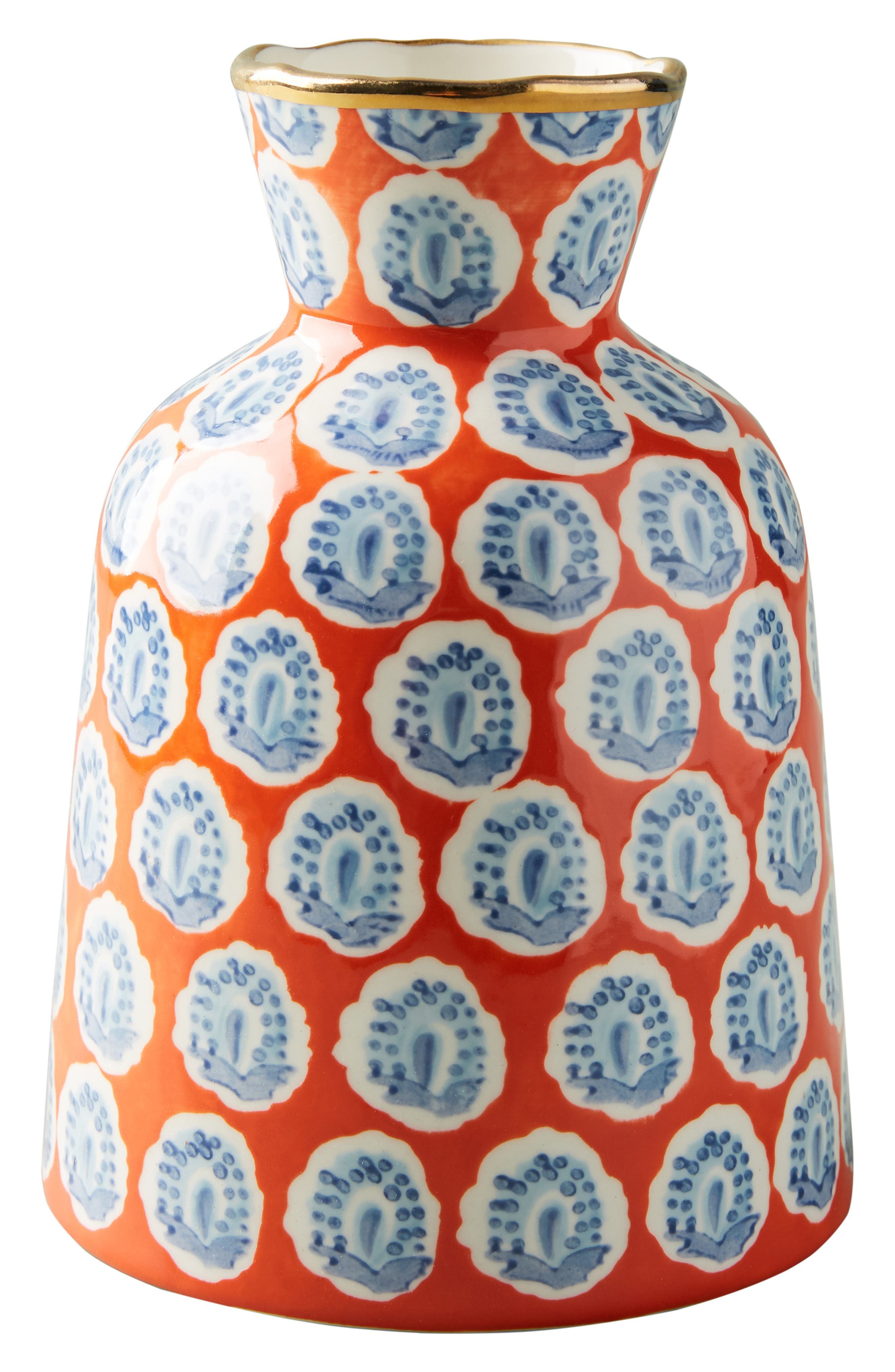 ANTHROPOLOGIE,                             Small Elsa Vase,                             Alternate thumbnail 4, color,                             WARM