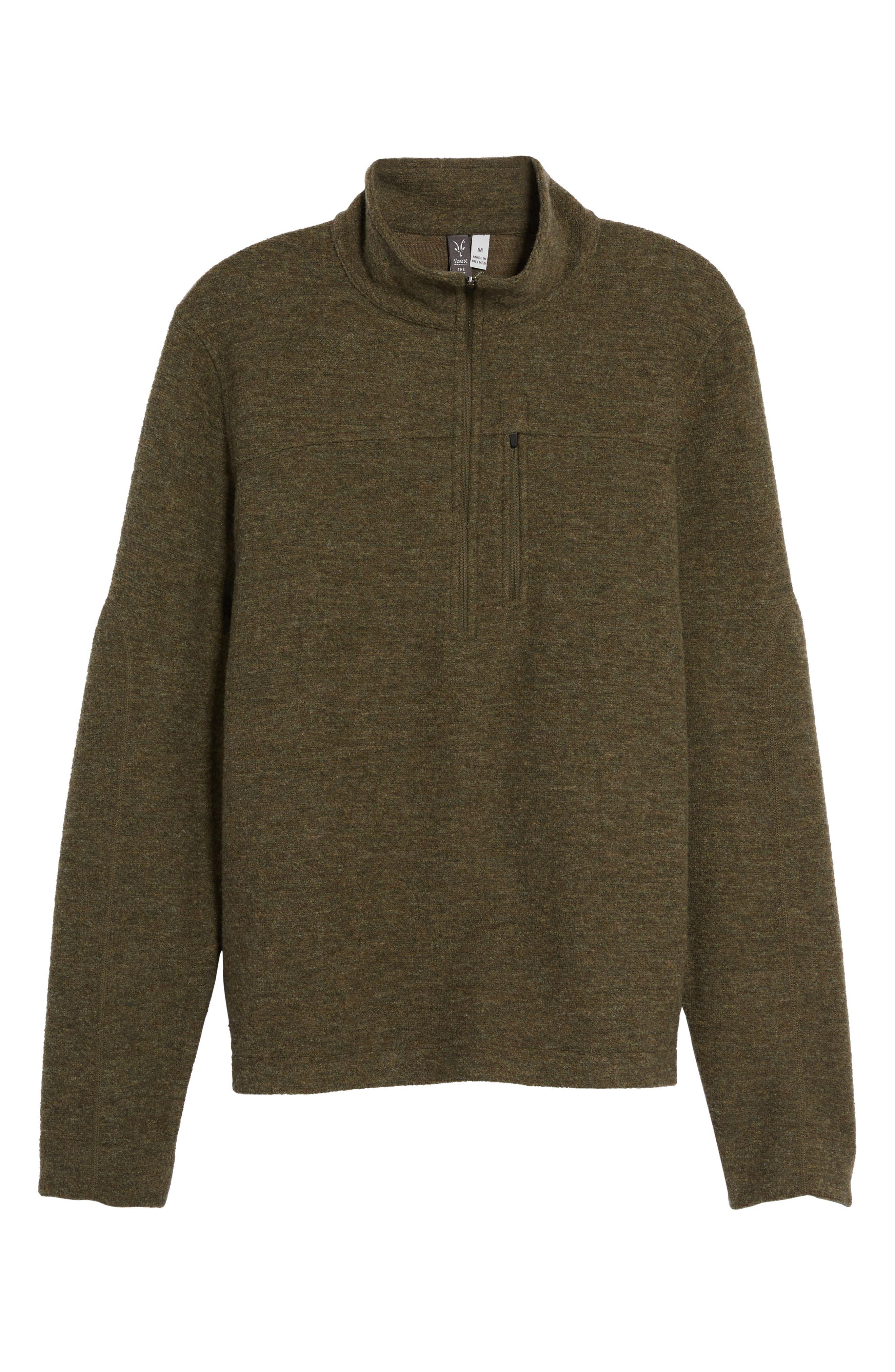 Scout Jura Merino Wool Blend Quarter Zip Pullover,                             Alternate thumbnail 28, color,