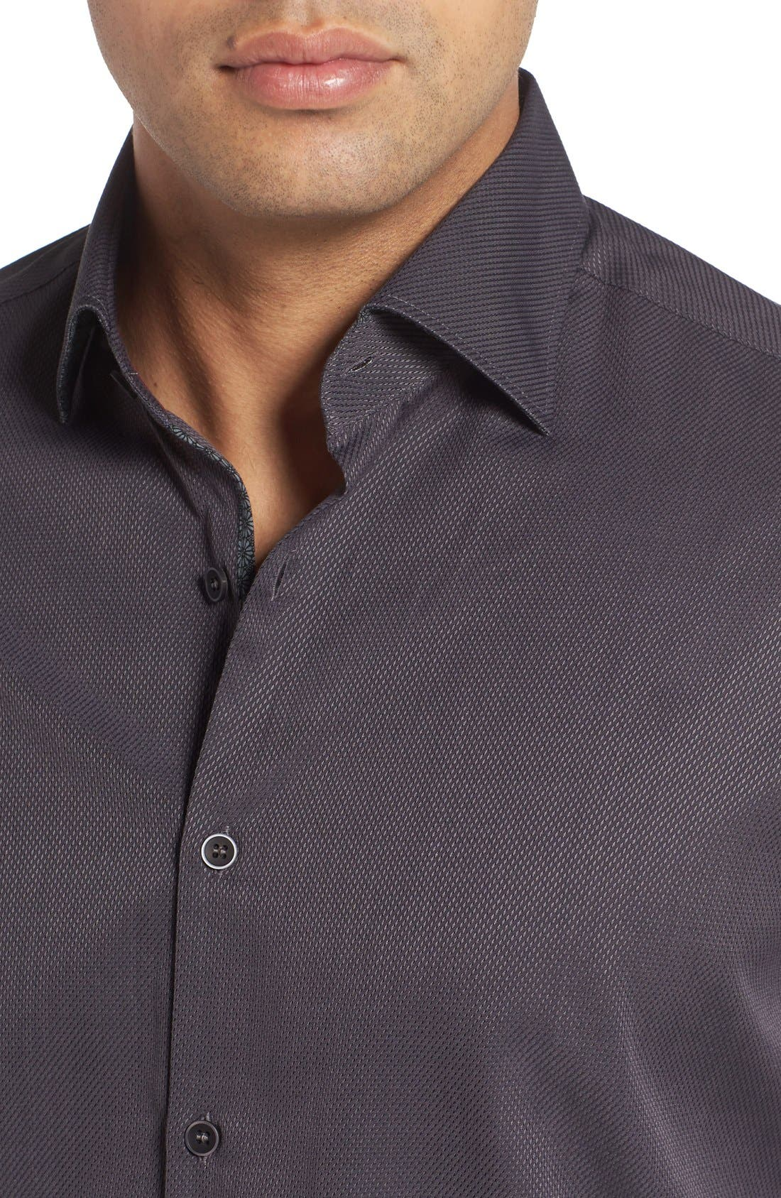 Textured Sport Shirt,                             Alternate thumbnail 14, color,