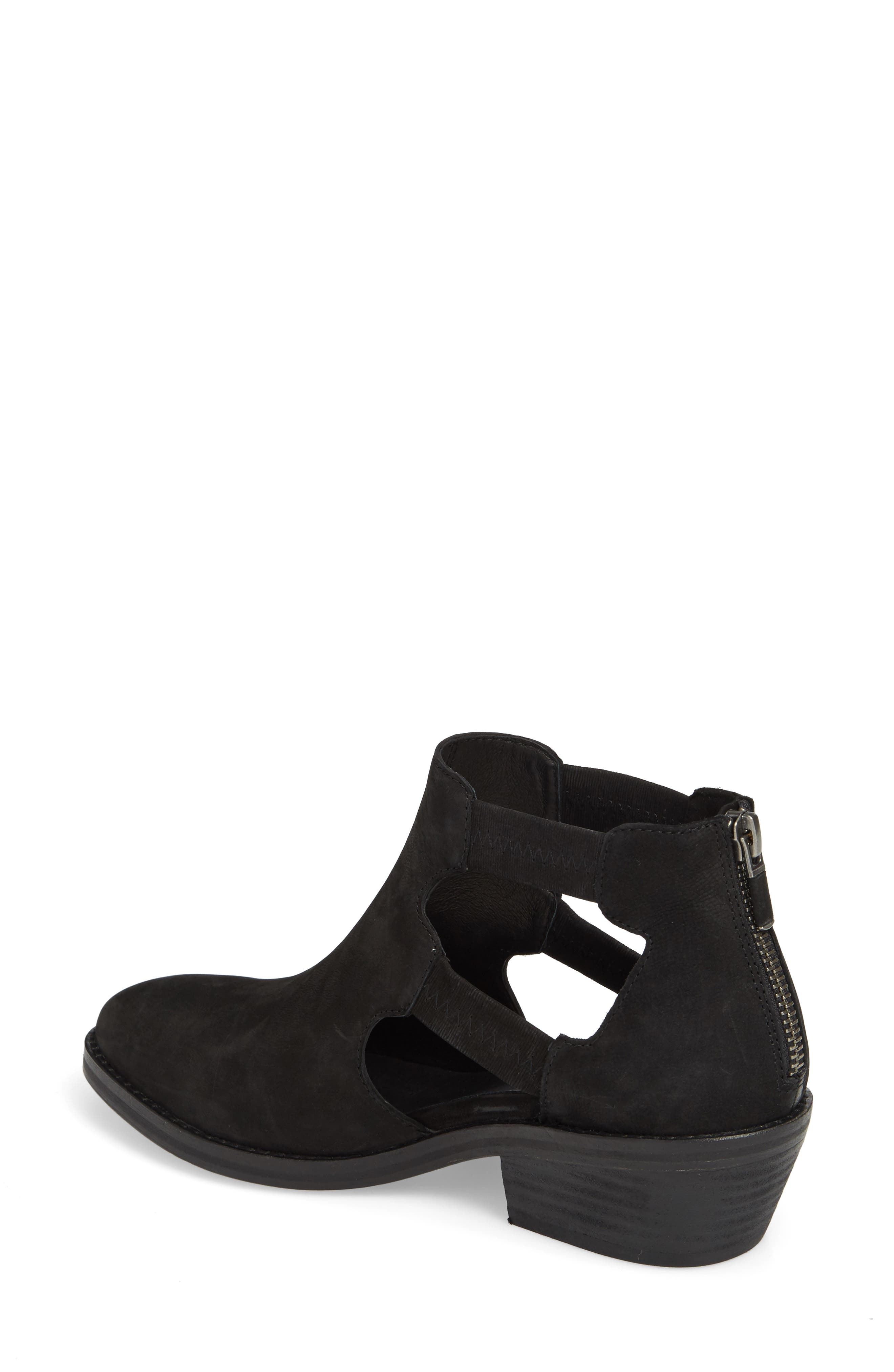 Vanda Cutout Bootie,                             Alternate thumbnail 2, color,                             001
