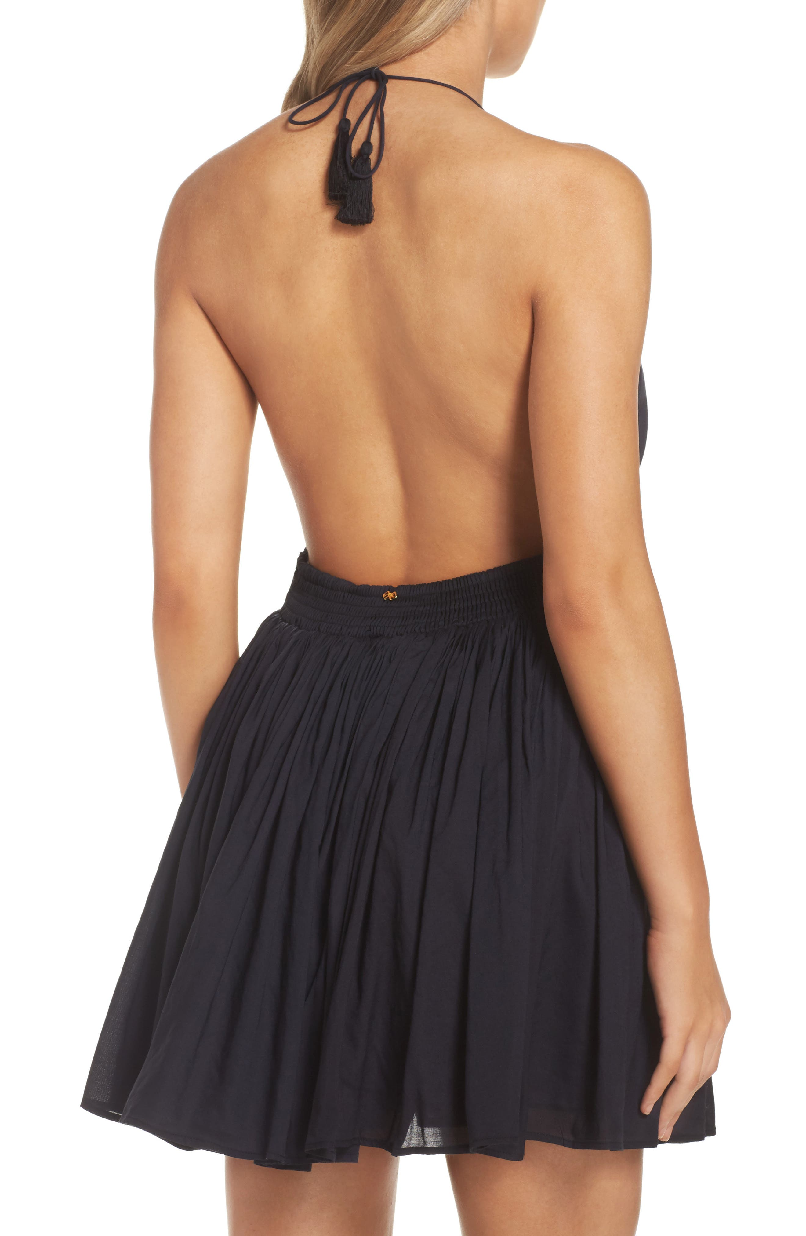 Celeste Cover-Up Dress,                             Alternate thumbnail 2, color,                             001