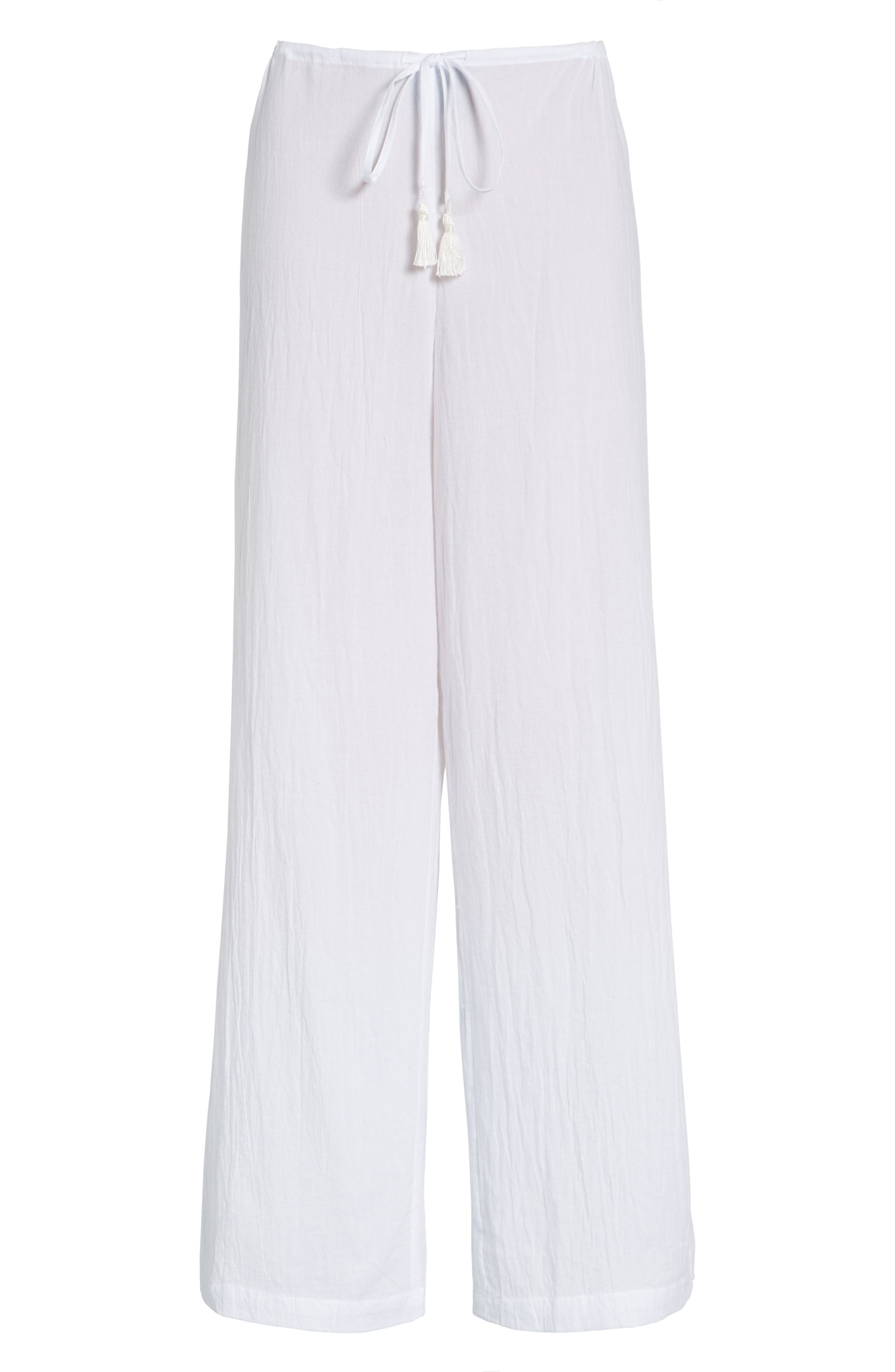 Cover-Up Pants,                             Alternate thumbnail 2, color,                             WHITE