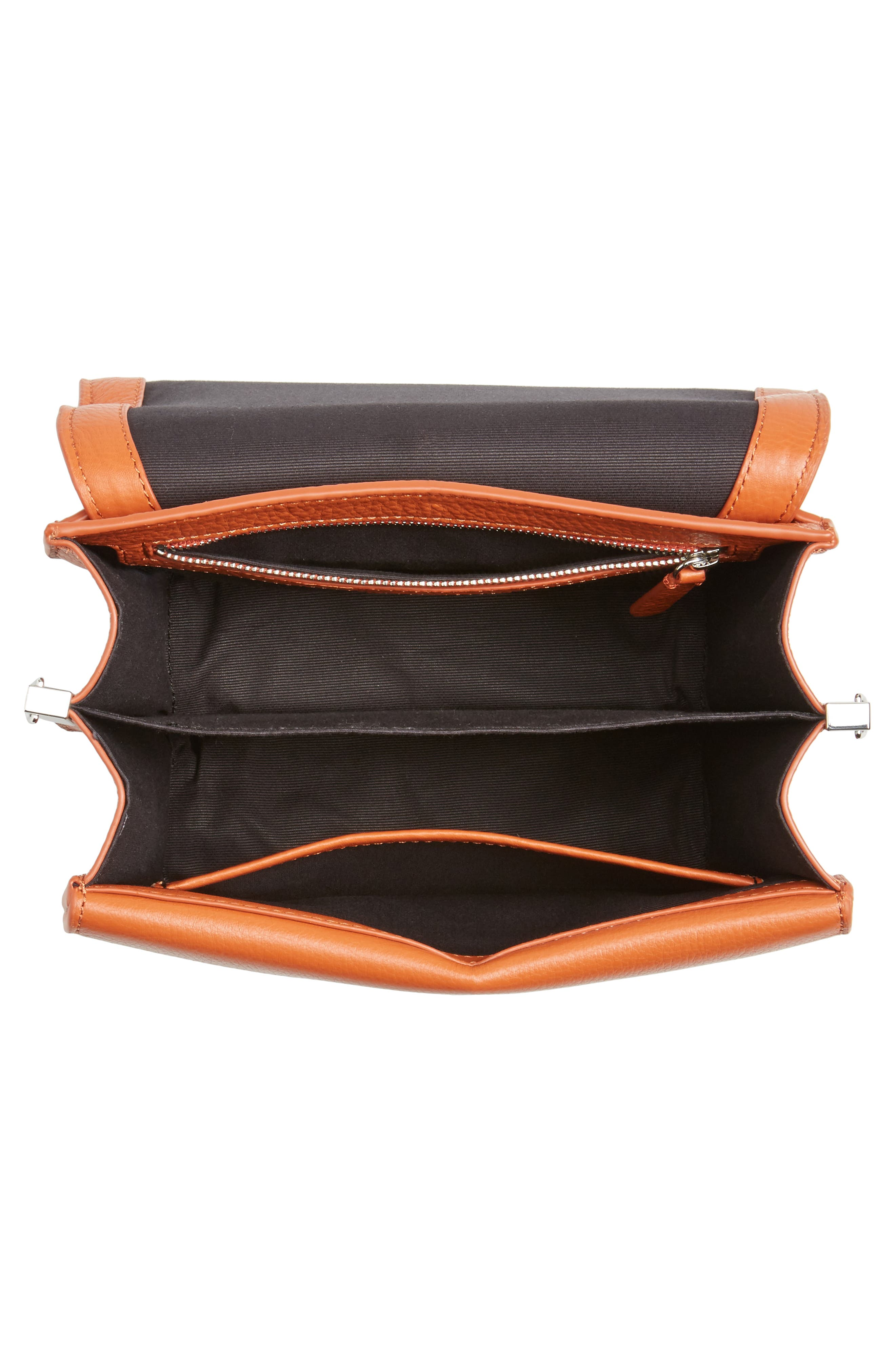 Landon Leather Crossbody Saddle Bag,                             Alternate thumbnail 16, color,