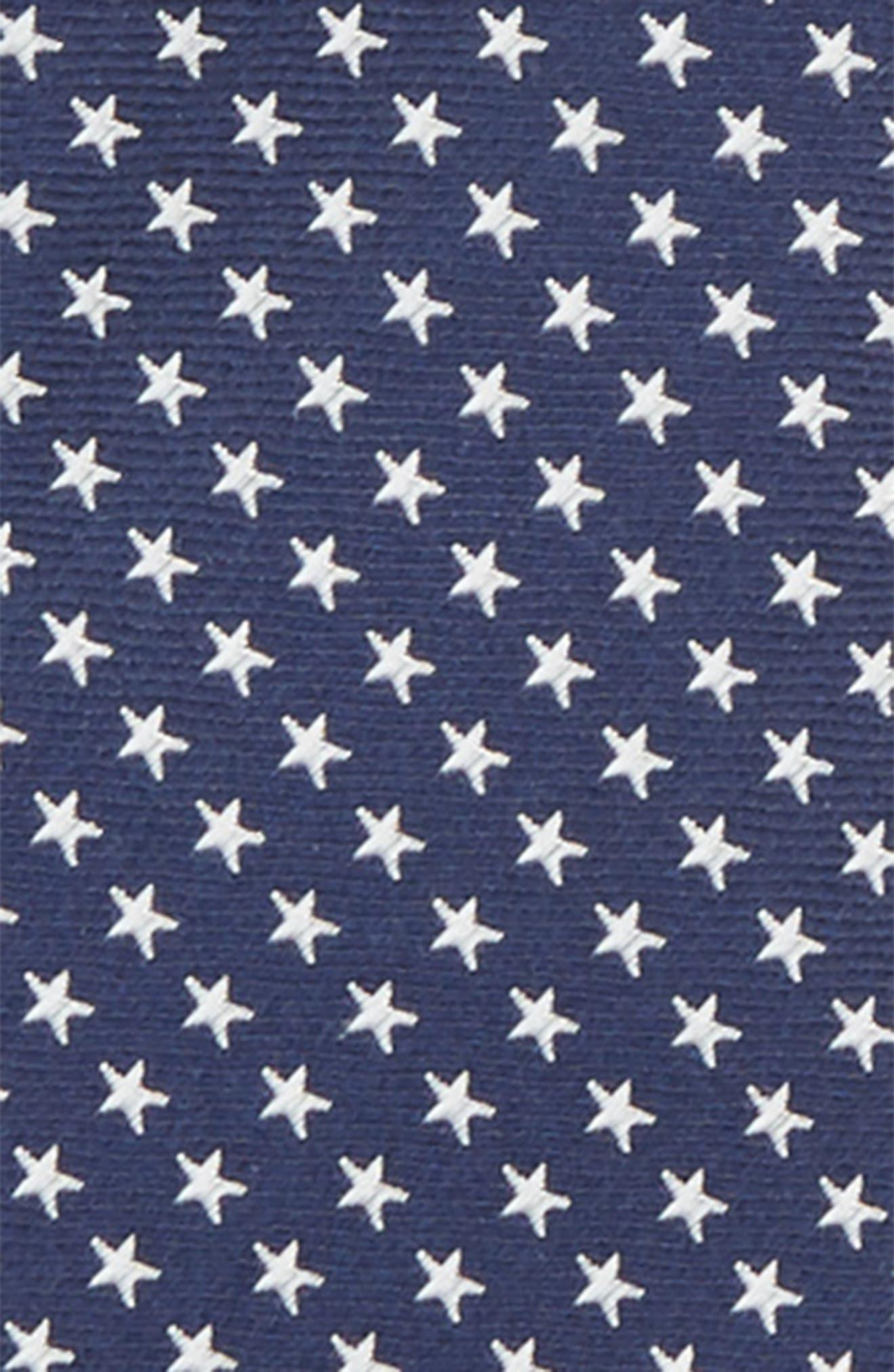 Stella Americana Silk Zip Tie,                             Alternate thumbnail 2, color,                             411