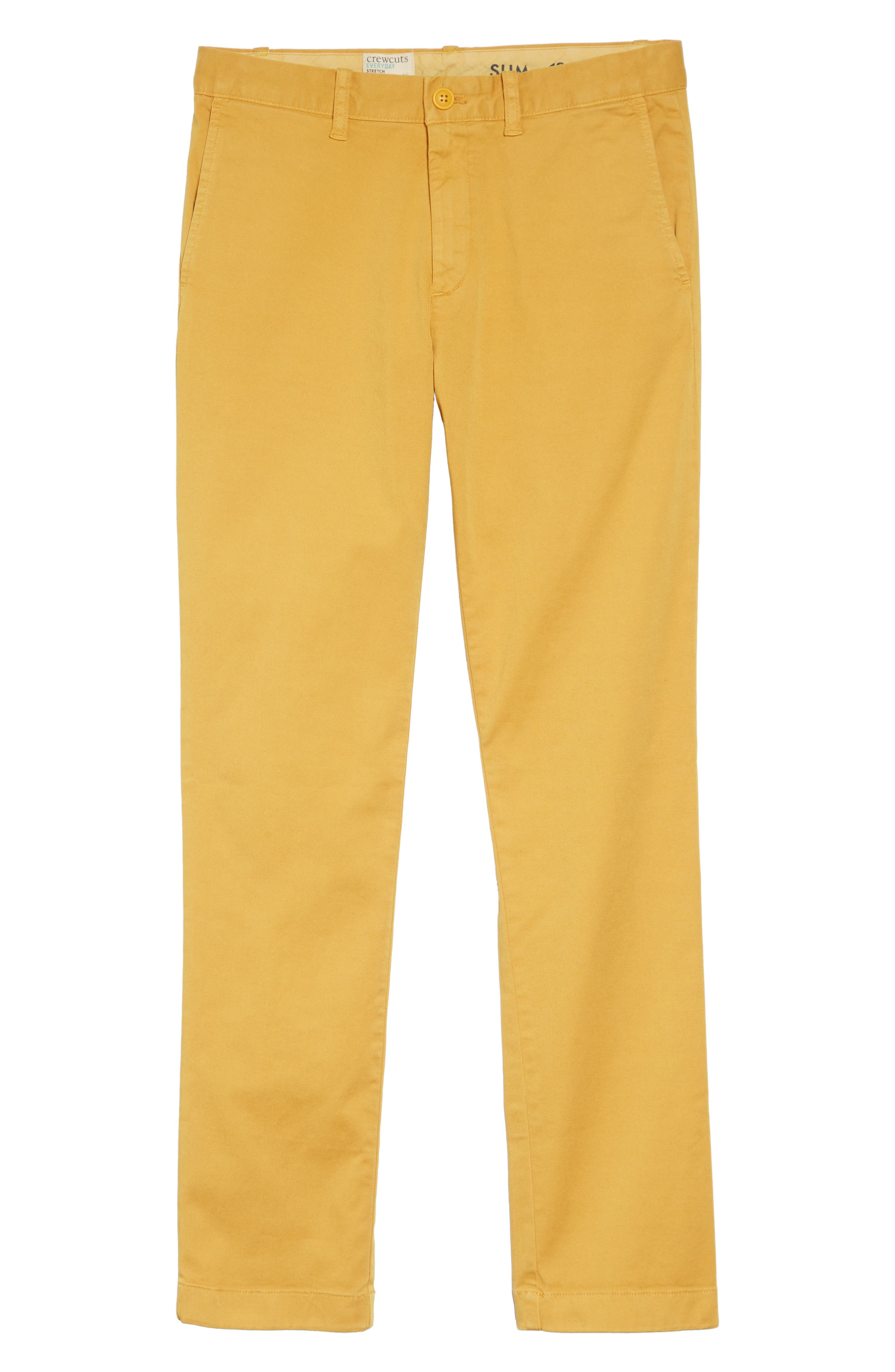 Stretch Chino Pants,                         Main,                         color, BRIGHT AMBER
