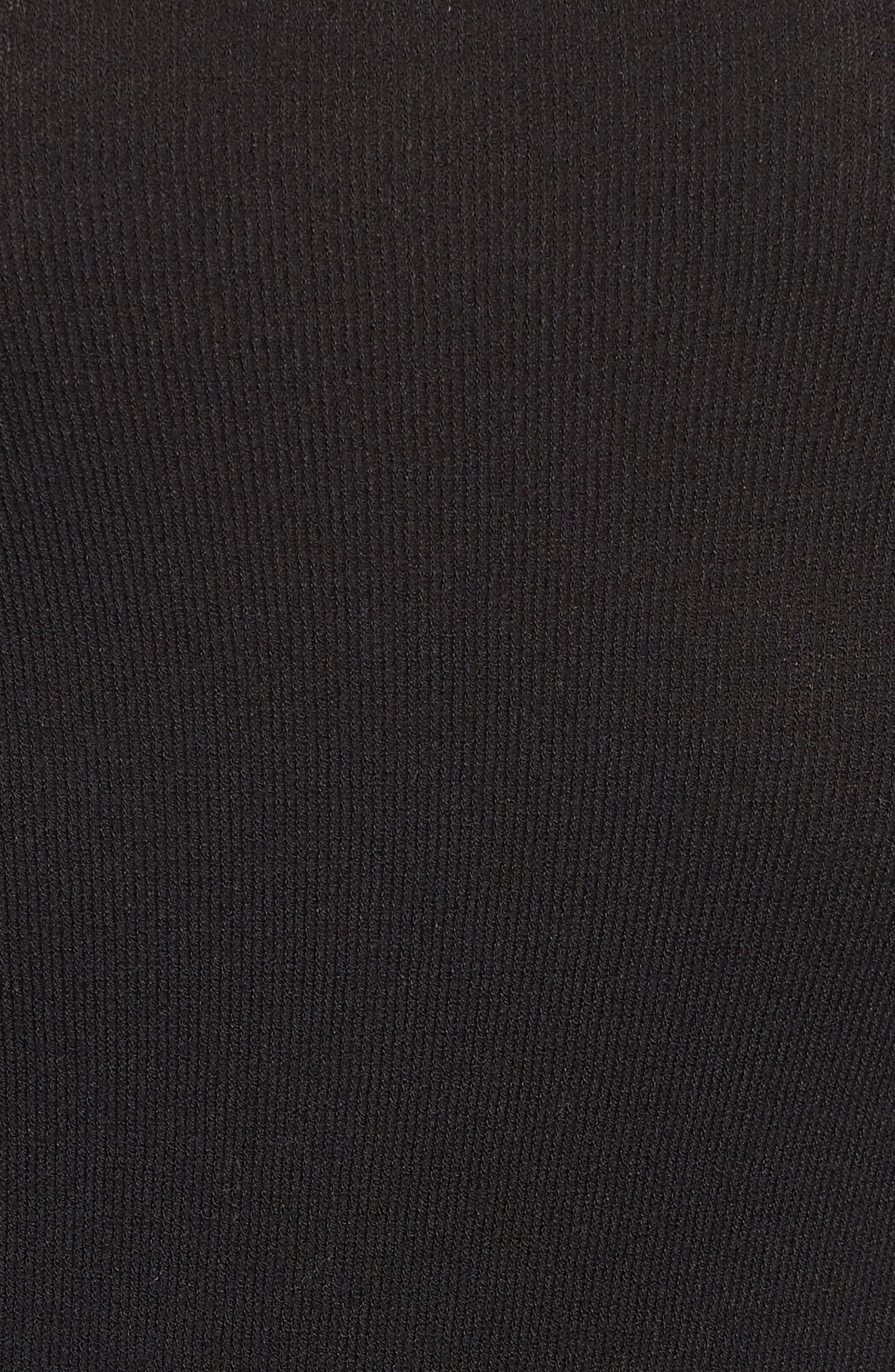 Slim Bodysuit,                             Alternate thumbnail 6, color,                             BLACK