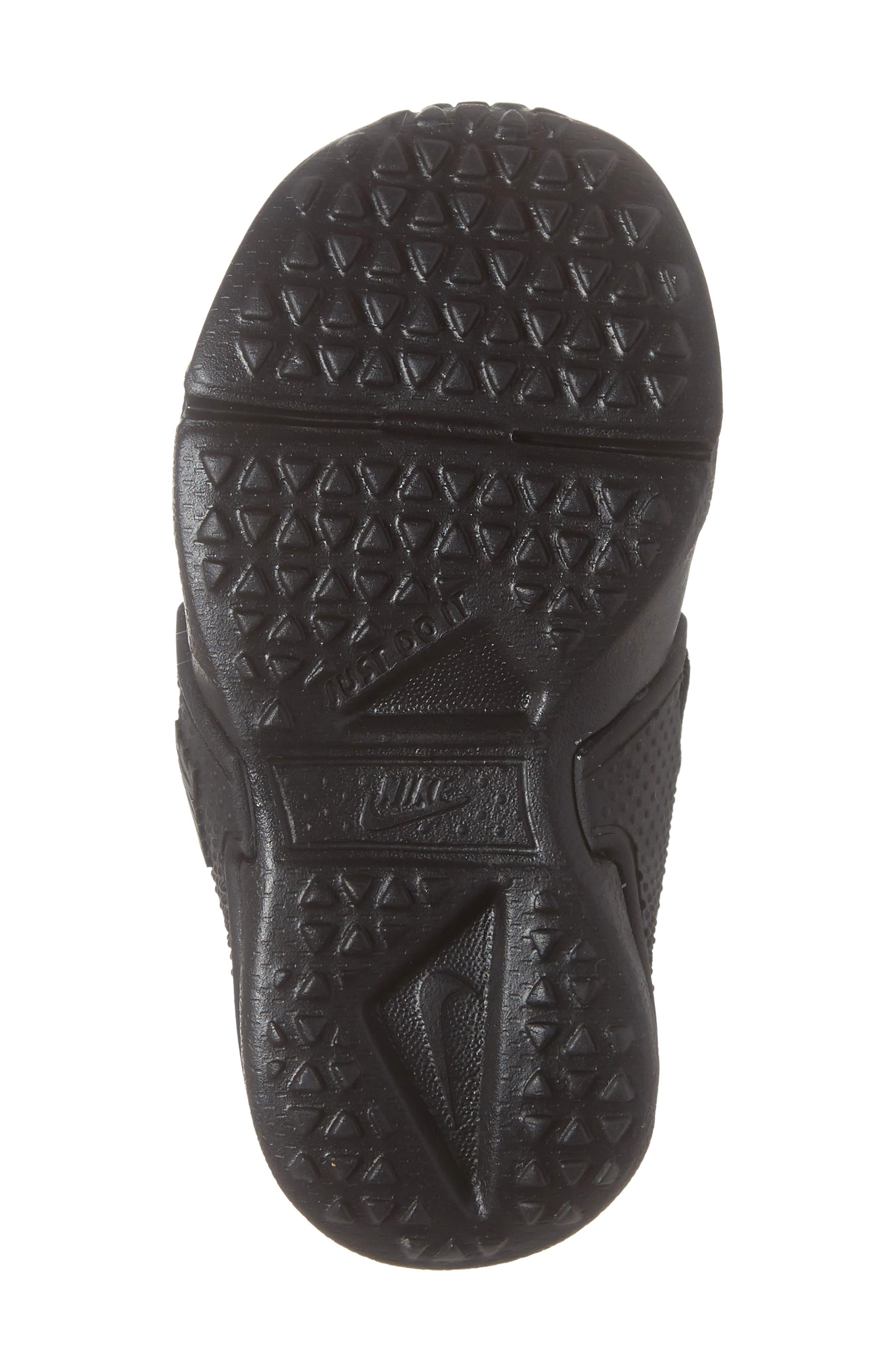 Huarache Extreme Sneaker,                             Alternate thumbnail 6, color,                             BLACK/ BLACK-BLACK