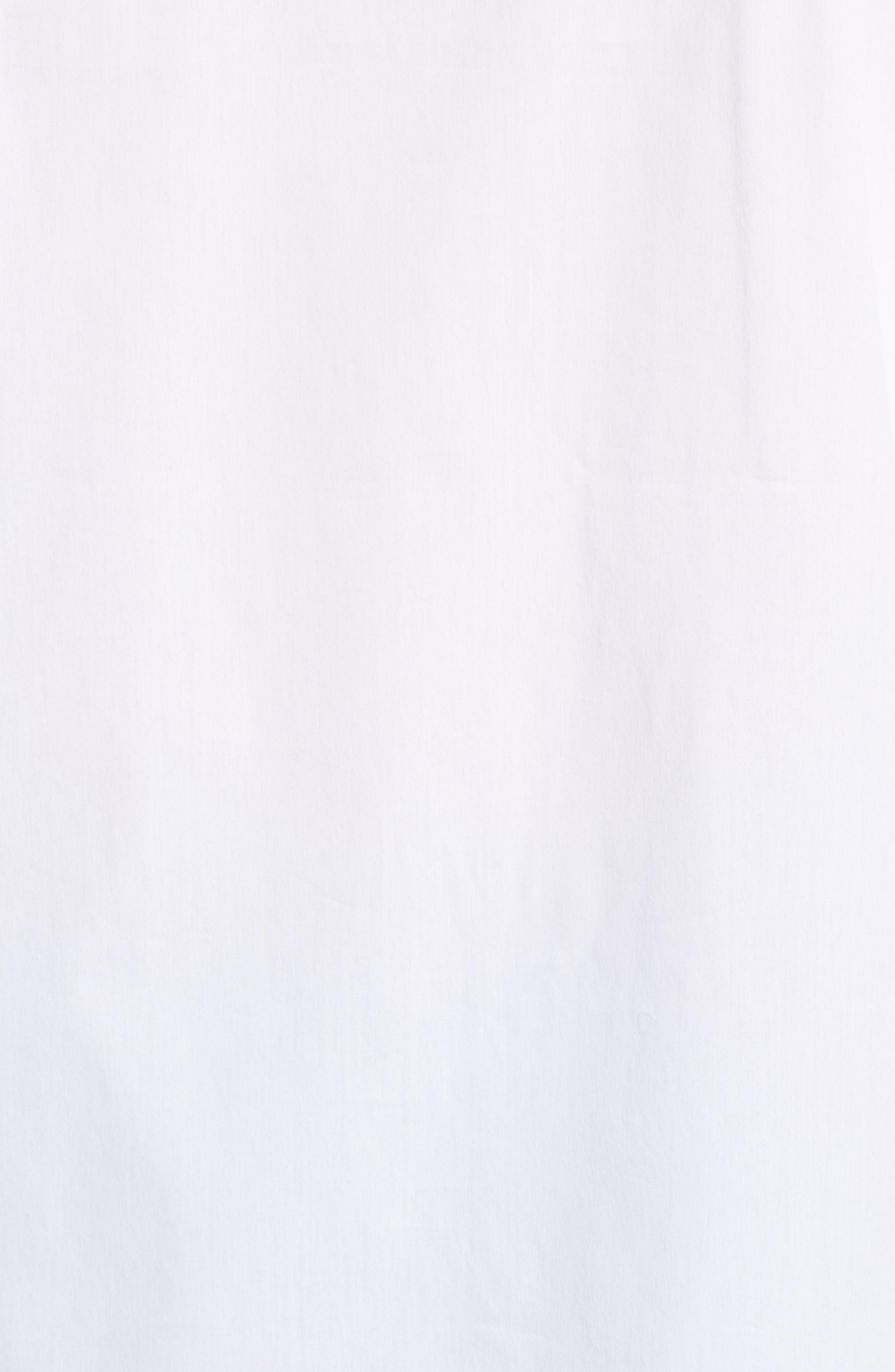 Tie Sleeve Poplin Shirt,                             Alternate thumbnail 5, color,