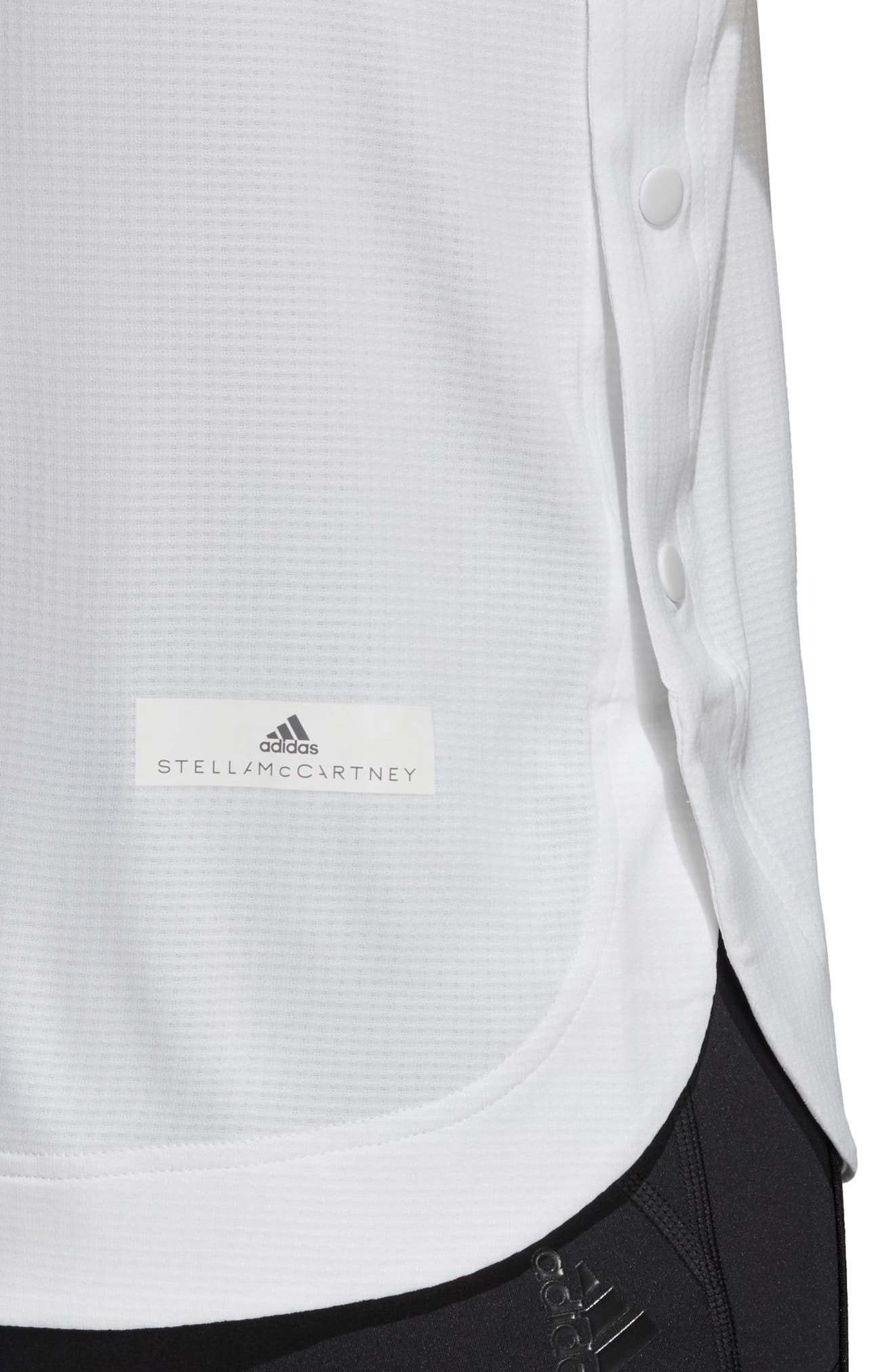 Train CLIMACHILL<sup>™</sup> Tee,                             Alternate thumbnail 8, color,                             WHITE