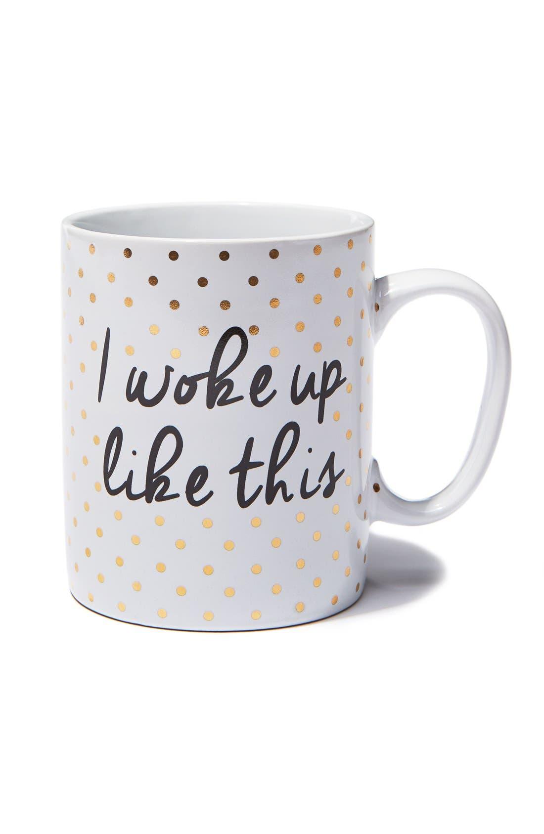 'I Woke Up Like This' Mug,                             Alternate thumbnail 2, color,                             710