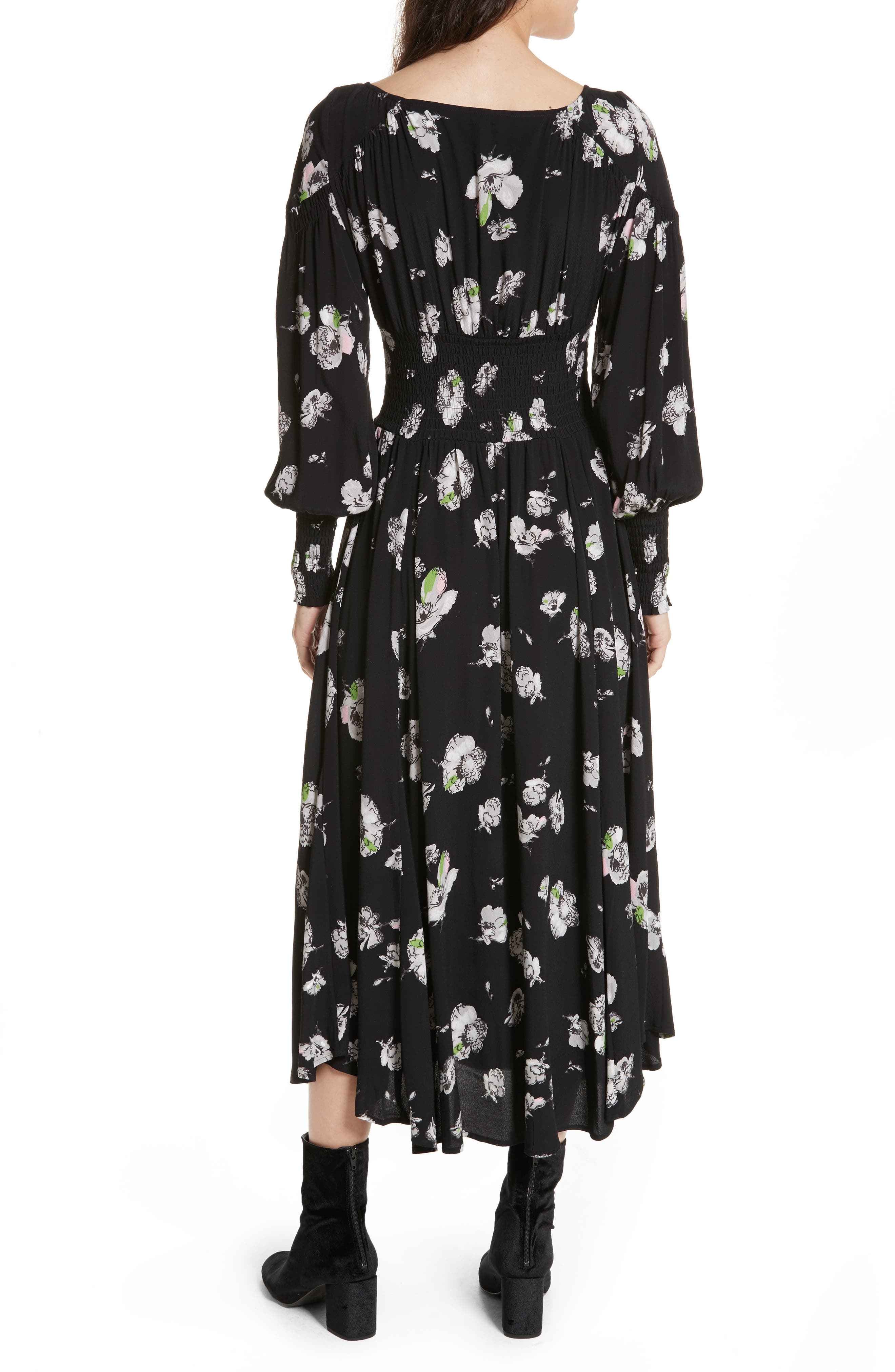 So Sweetly Midi Dress,                             Alternate thumbnail 2, color,                             001