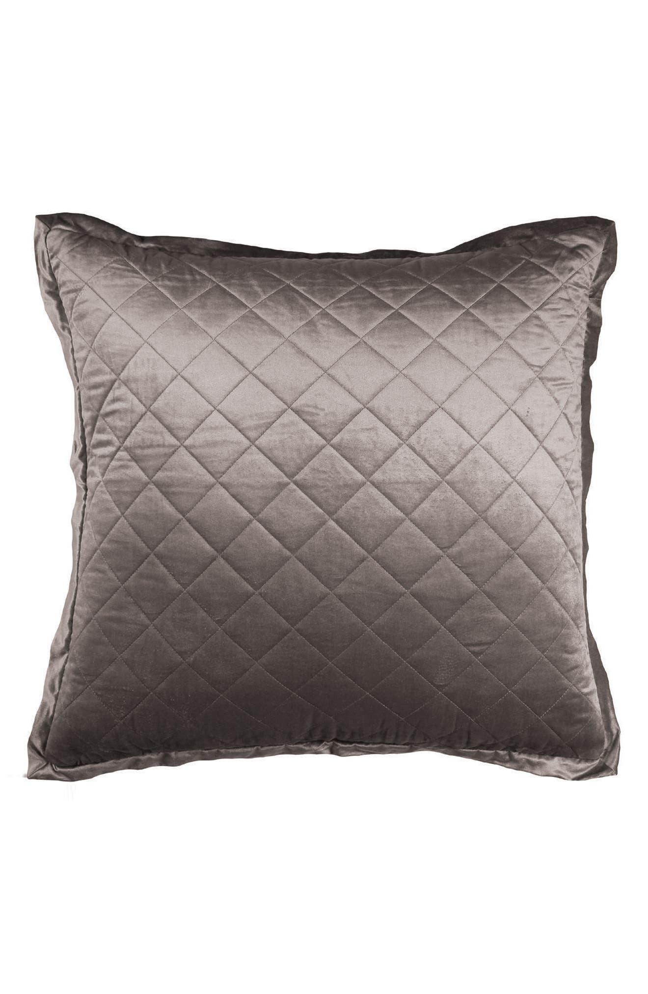 Chloe Quilted Euro Sham,                         Main,                         color, 020