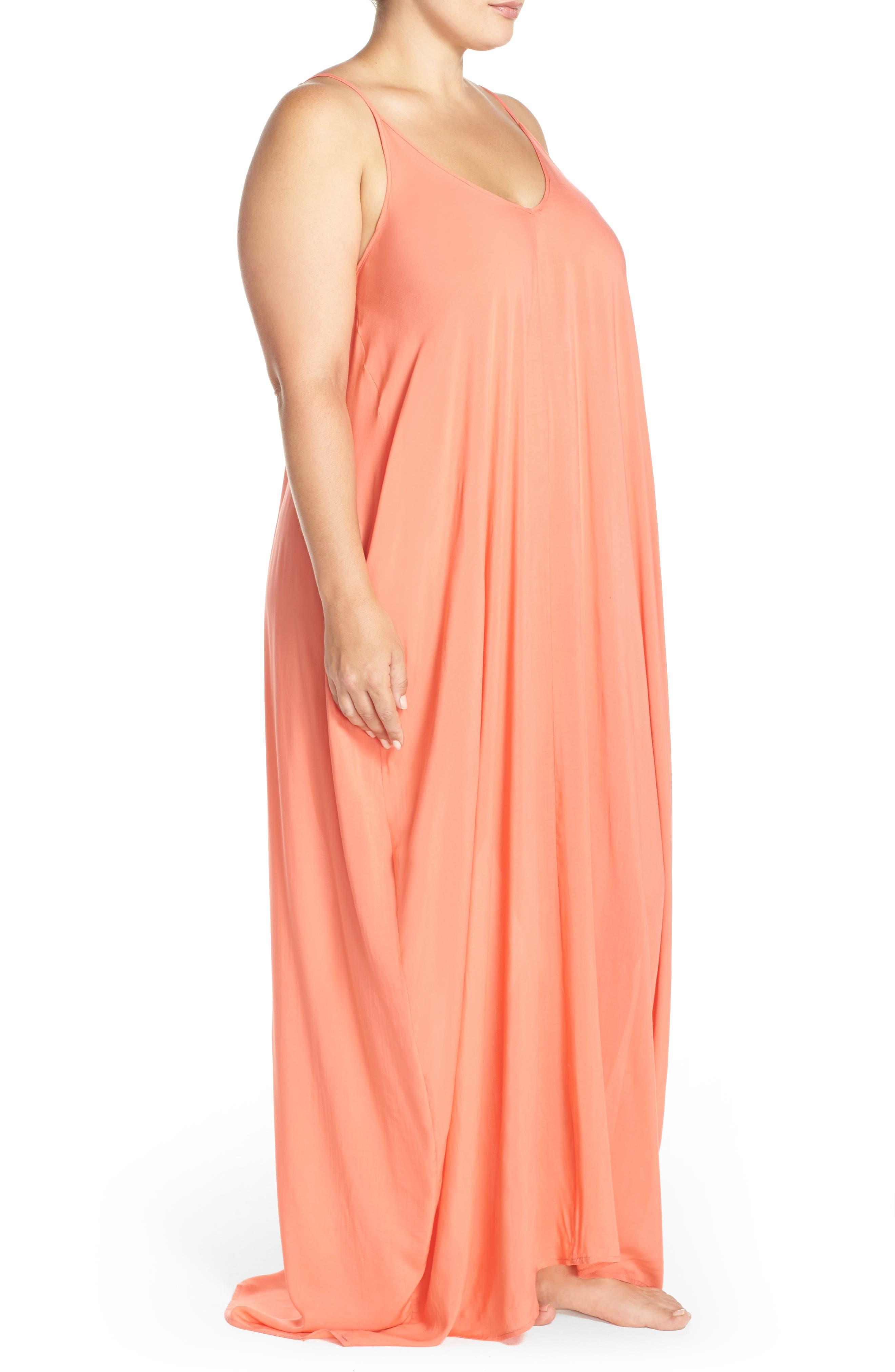Cover-Up Maxi Dress,                             Alternate thumbnail 28, color,