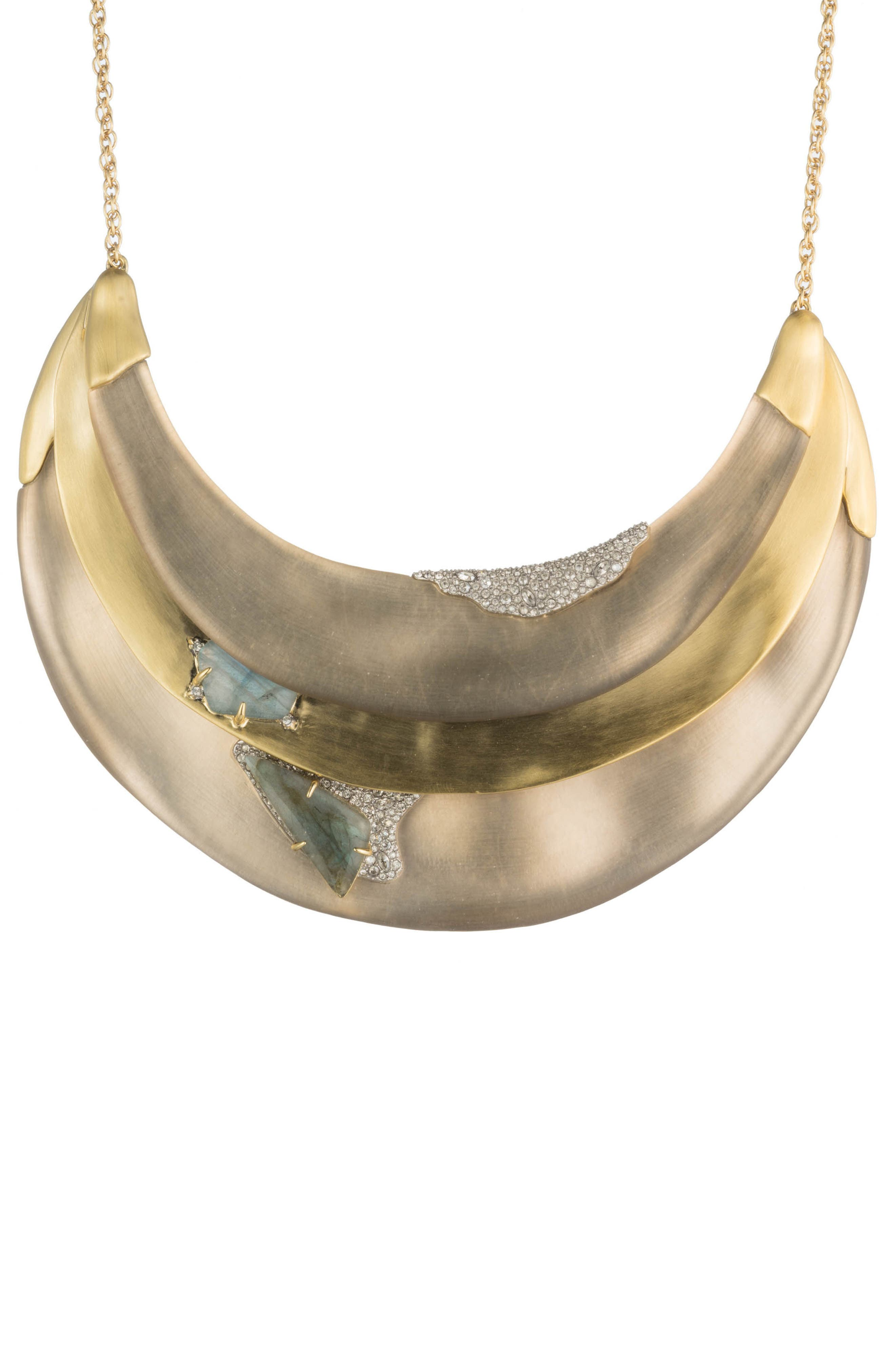 Roxbury Layered Bib Necklace,                         Main,                         color, IVORY