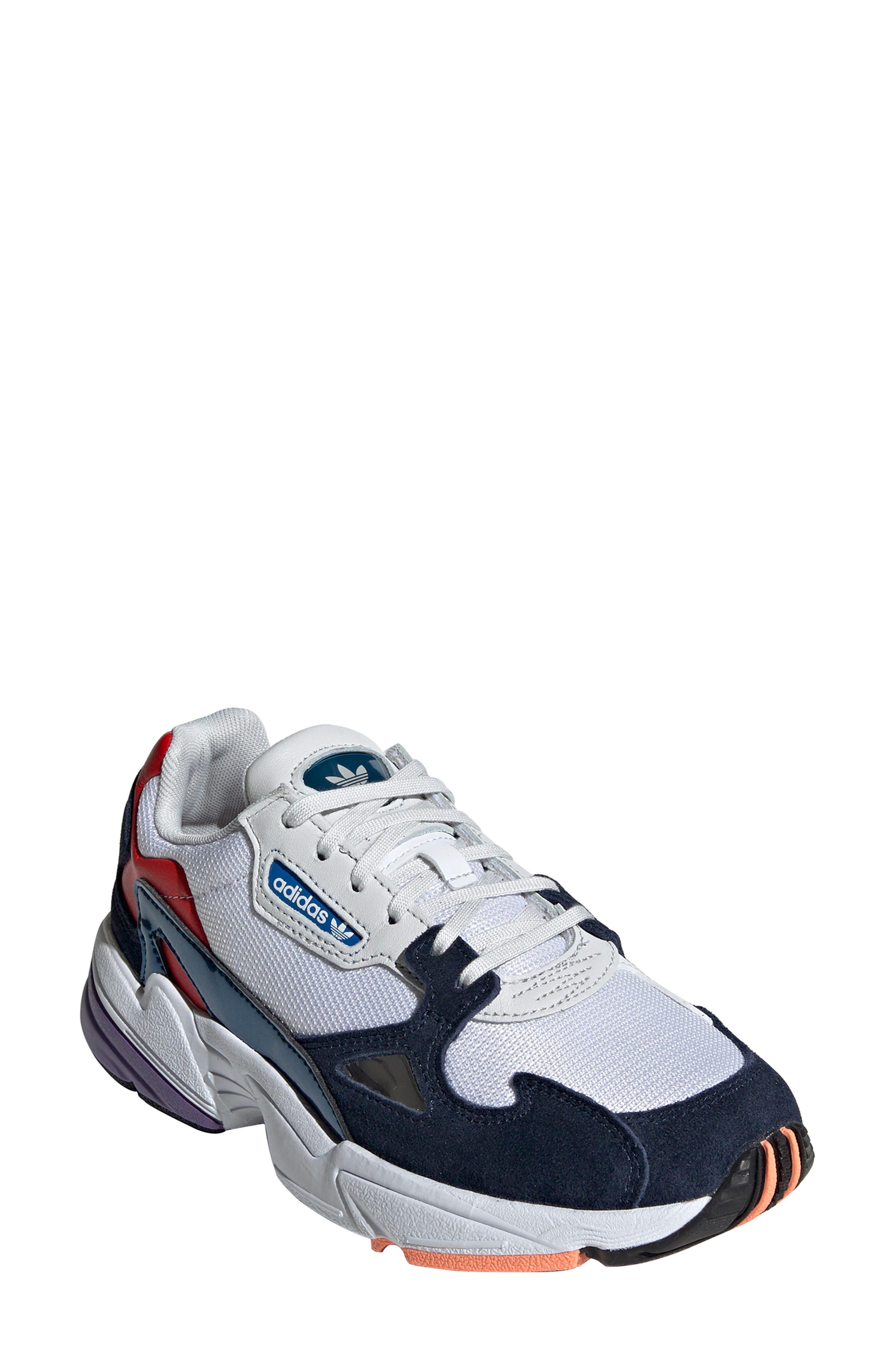 sale retailer bf3b9 f6295 Adidas Originals Women s Originals Falcon Casual Shoes, White In Crystal  White S16
