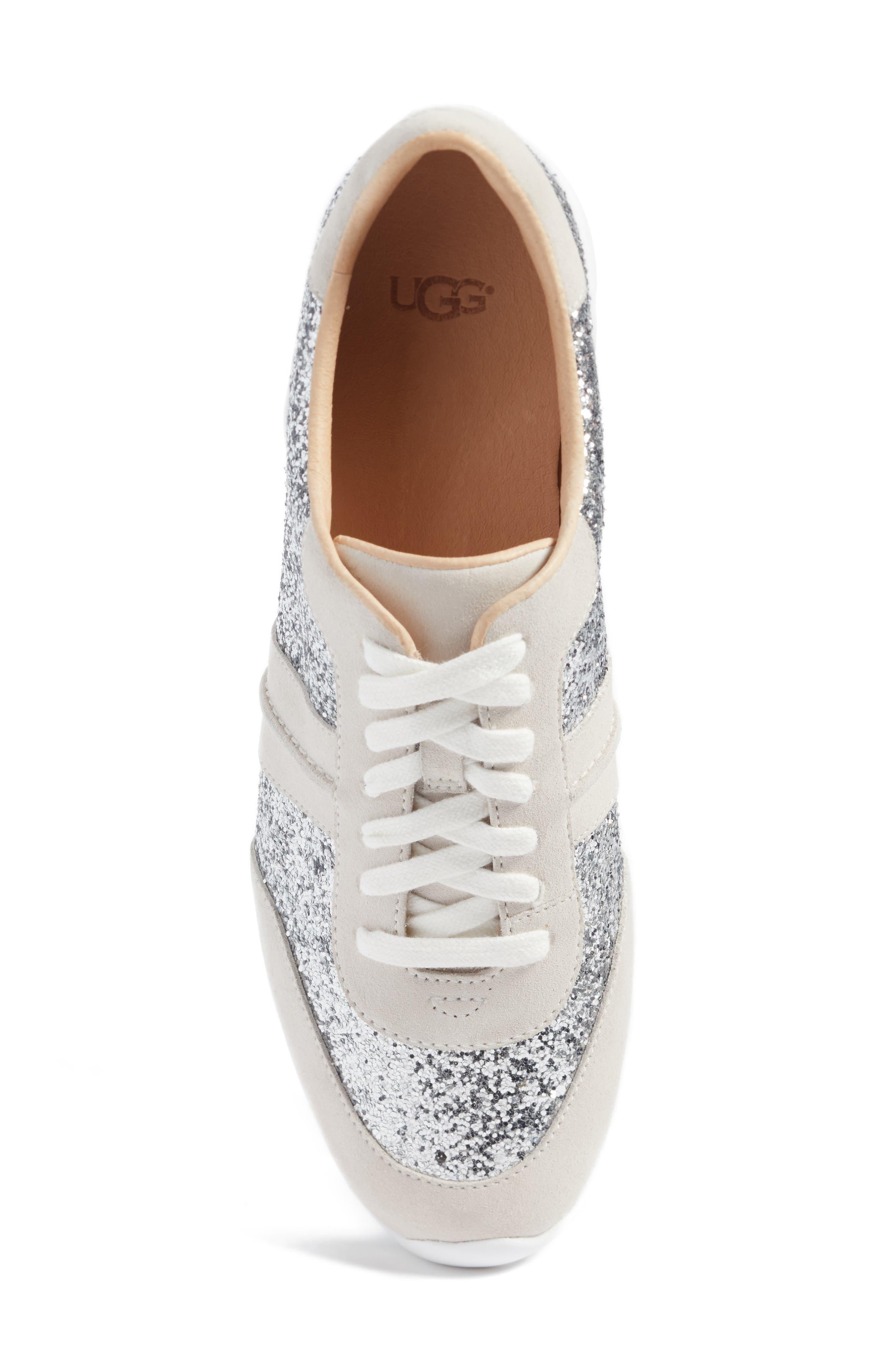 Jaida Glitter Sneaker,                             Alternate thumbnail 5, color,                             040