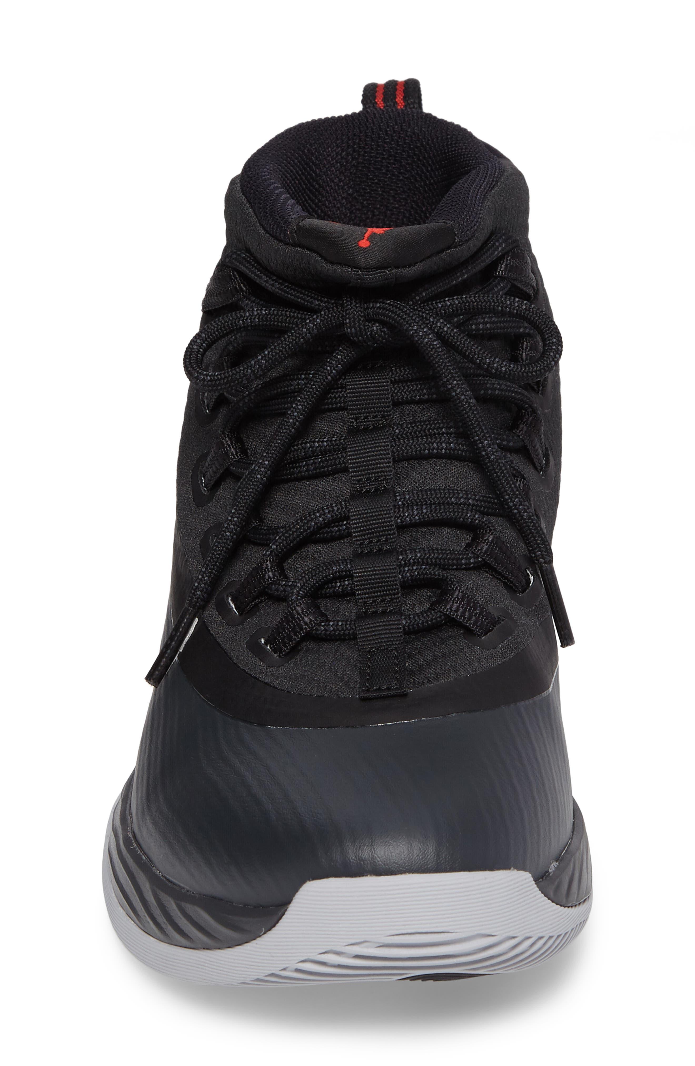 Jordan Ultra Fly 2 Basketball Shoe,                             Alternate thumbnail 4, color,                             002