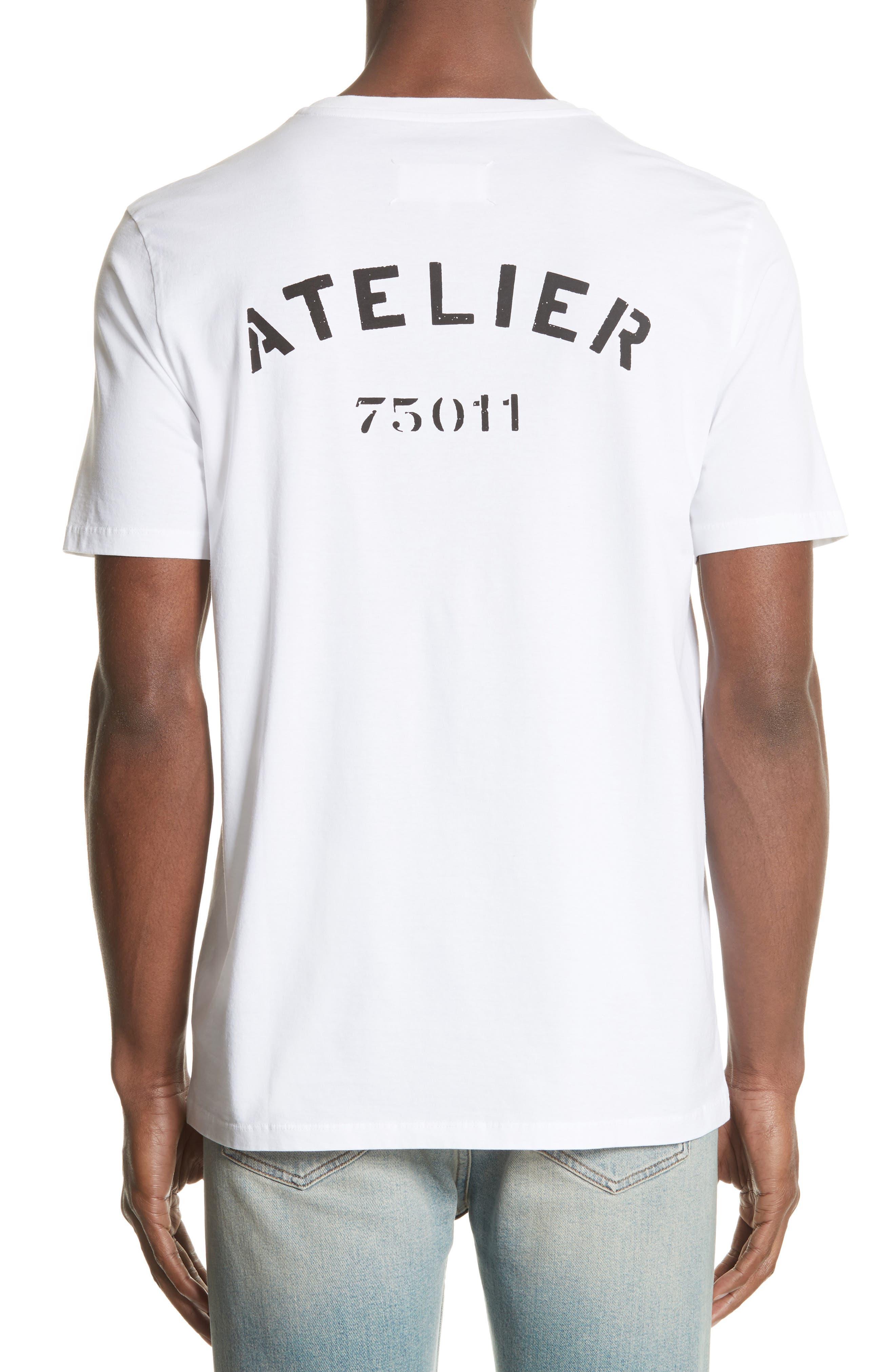 Atelier Graphic T-Shirt,                             Alternate thumbnail 2, color,                             100