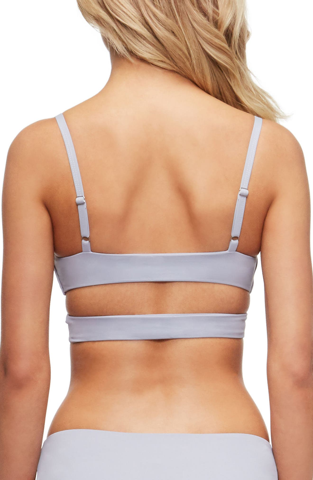 'Jessi' Cutout Triangle Bikini Top,                             Alternate thumbnail 13, color,