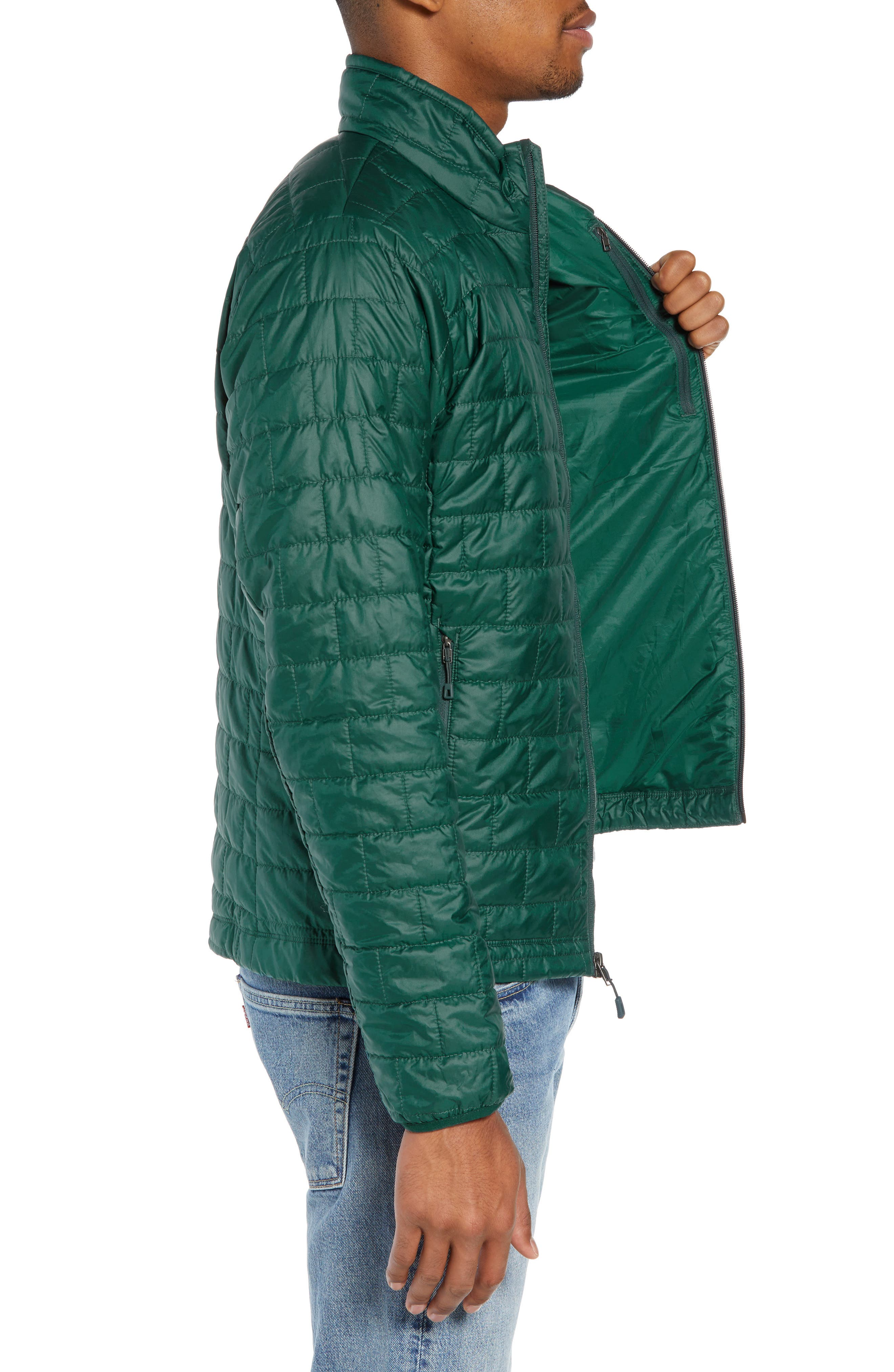 'Nano Puff<sup>®</sup>' Water Resistant Jacket,                             Alternate thumbnail 3, color,                             MICRO GREEN