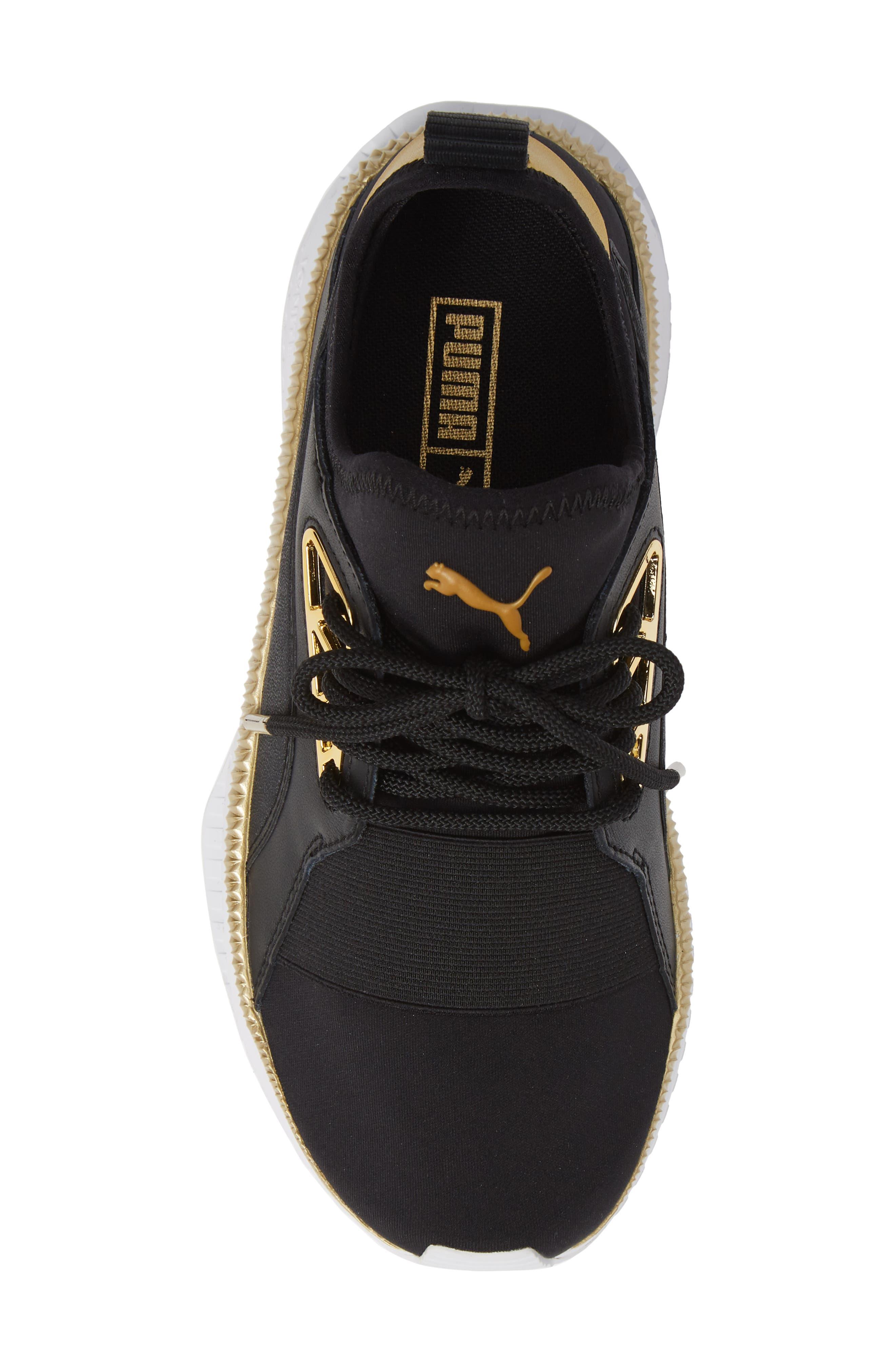 TSUGI Apex Jewel Sneaker,                             Alternate thumbnail 5, color,                             PUMA BLACK/ PUMA BLACK