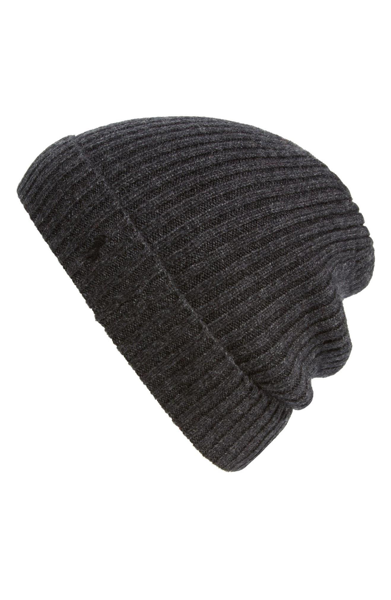 Polo Ralph Lauren Cashmere   Wool Rib Knit Beanie  5a9e26752f10