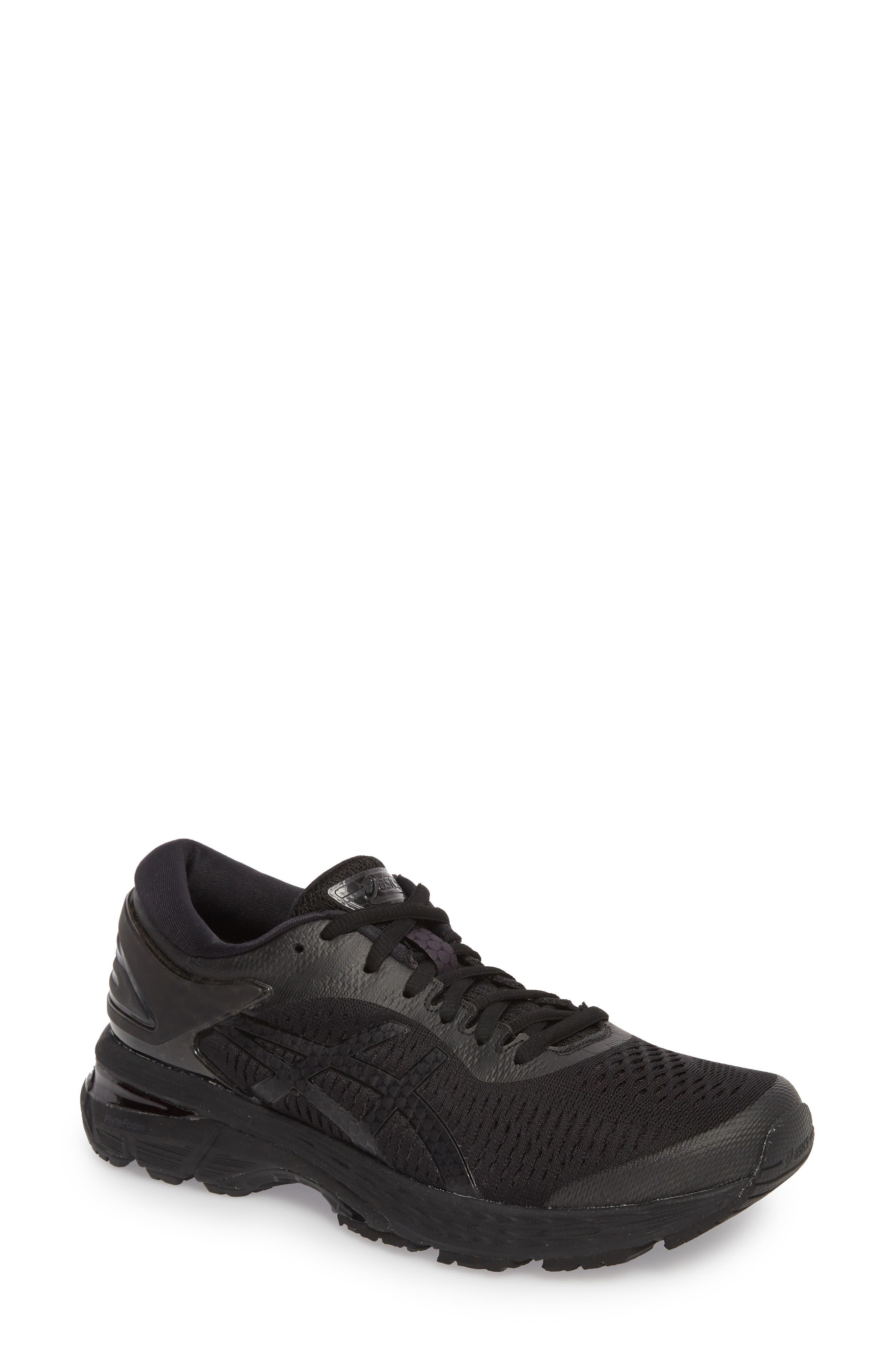 Asics Gel-Kayano 25 Running Shoe, Black