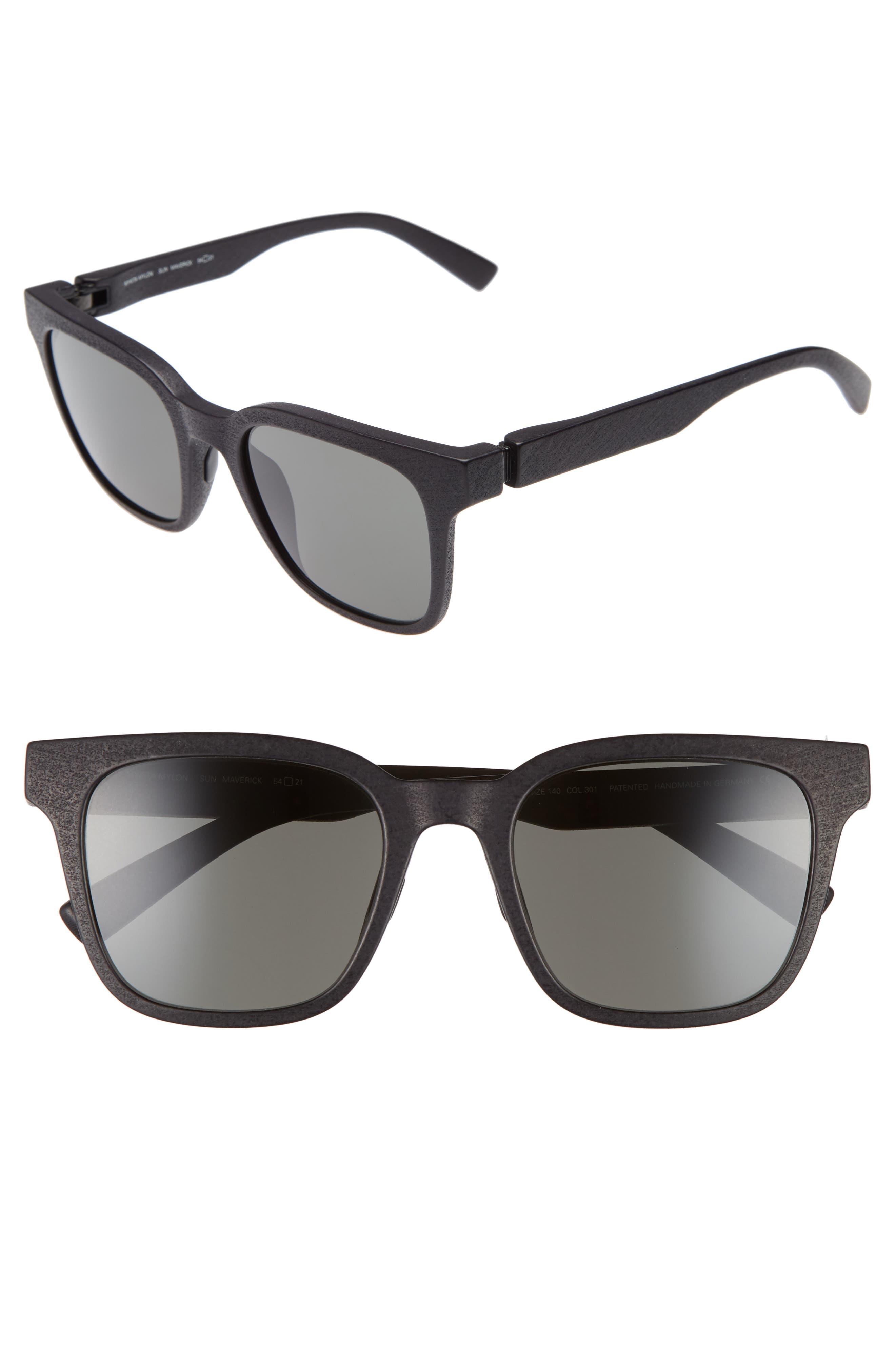 Maverick 54mm Sunglasses,                             Main thumbnail 1, color,                             001