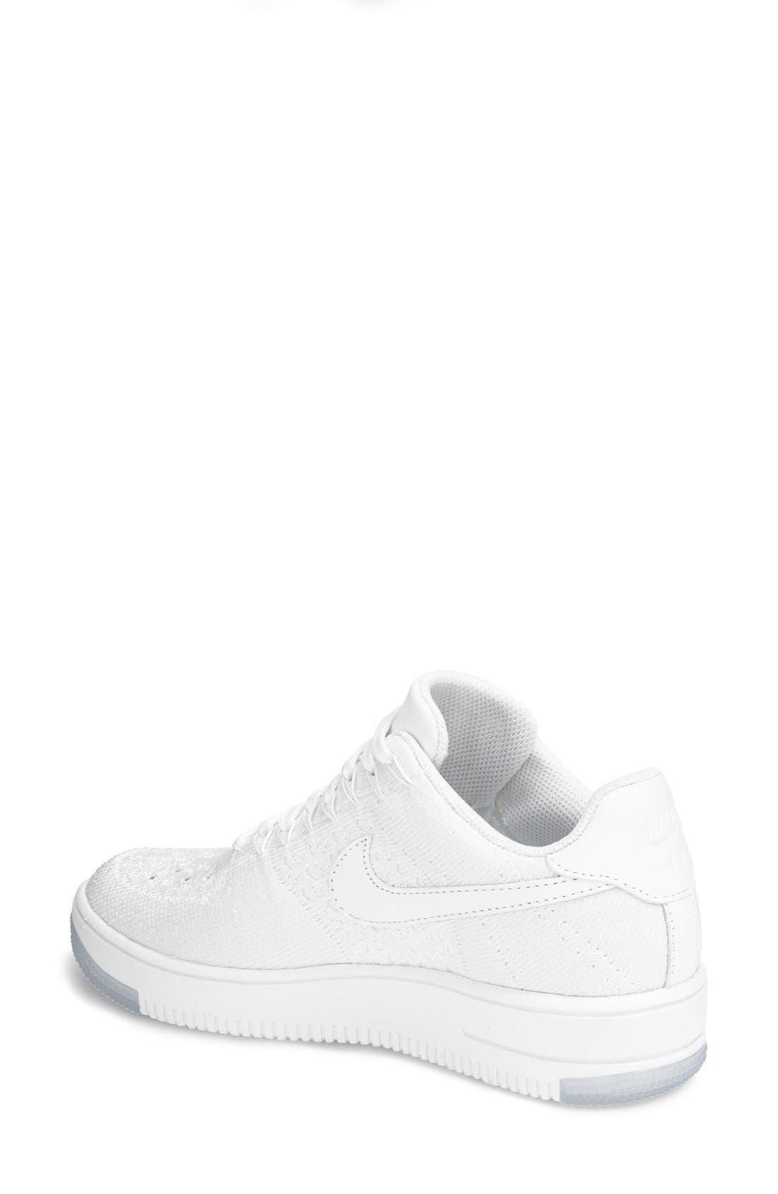 'Air Force 1 Flyknit Low' Sneaker,                             Alternate thumbnail 18, color,