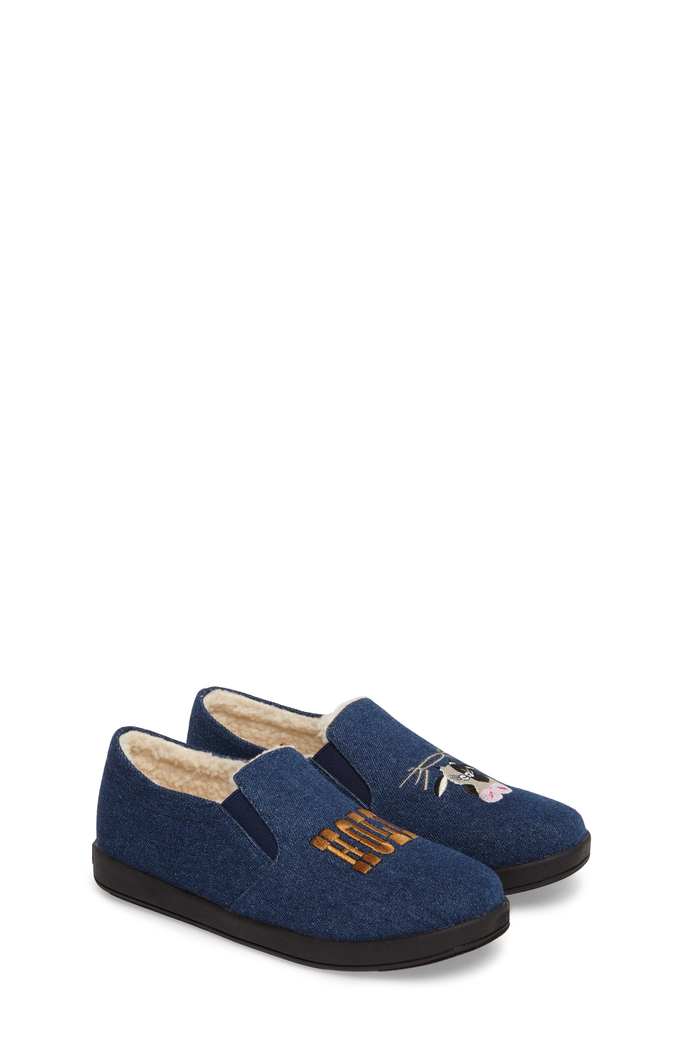 Cynthia Tala Holy Cow Embroidered Slippers,                         Main,                         color, 400