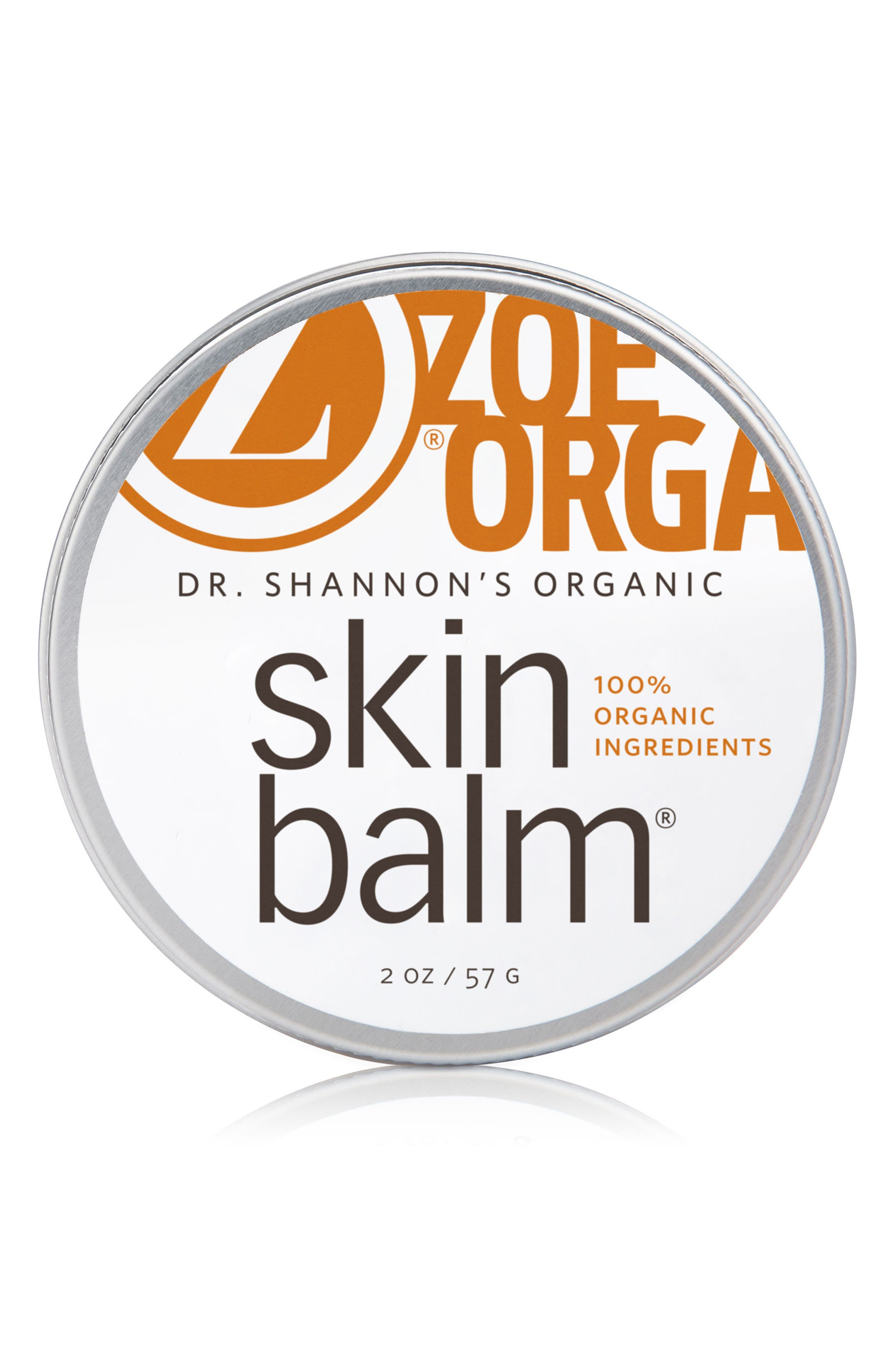 Dr. Shannon's Organic Skin Balm,                             Main thumbnail 1, color,                             WHITE
