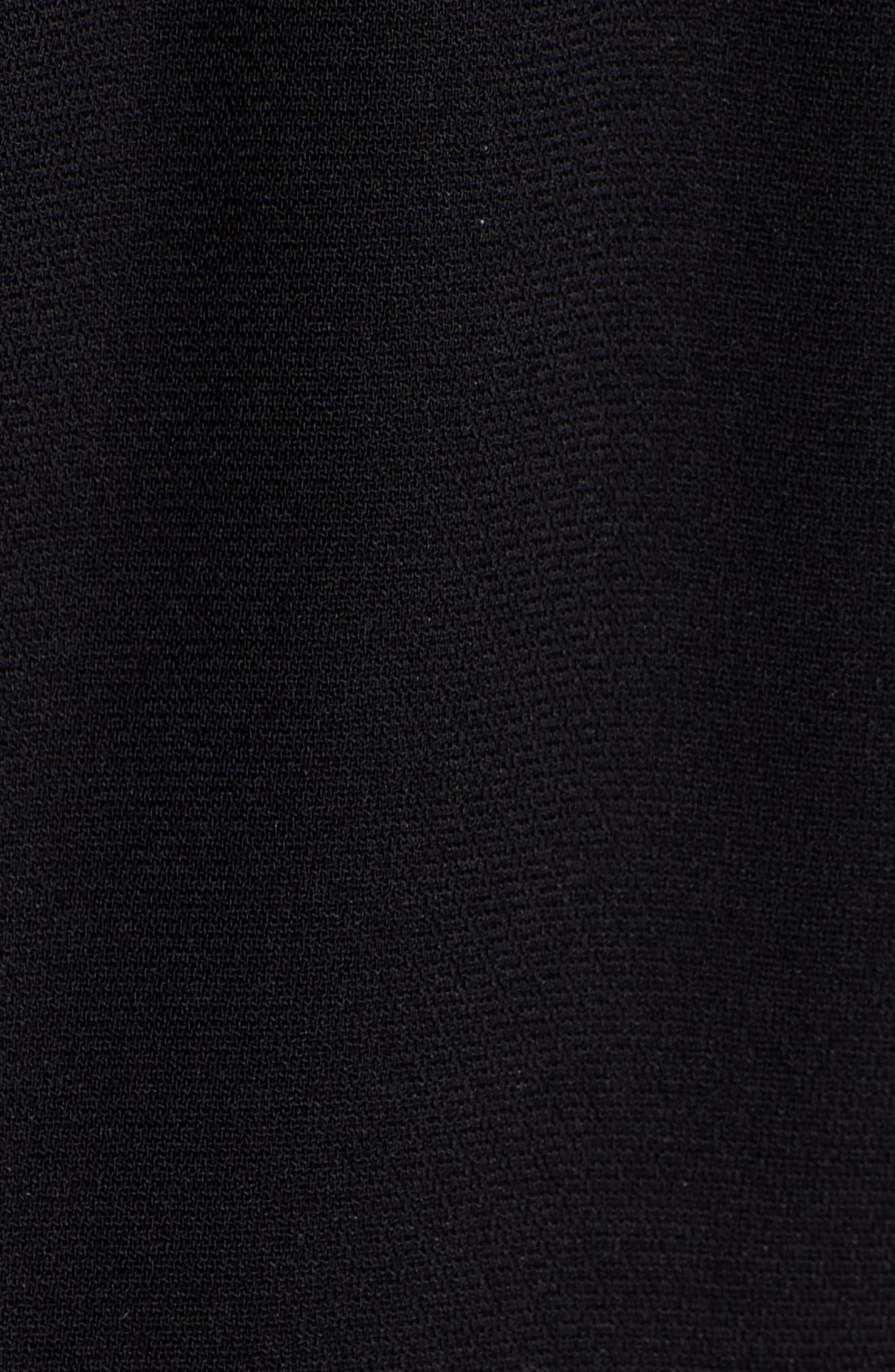 Side Stripe Track Pants,                             Alternate thumbnail 5, color,                             BLACK COMBO