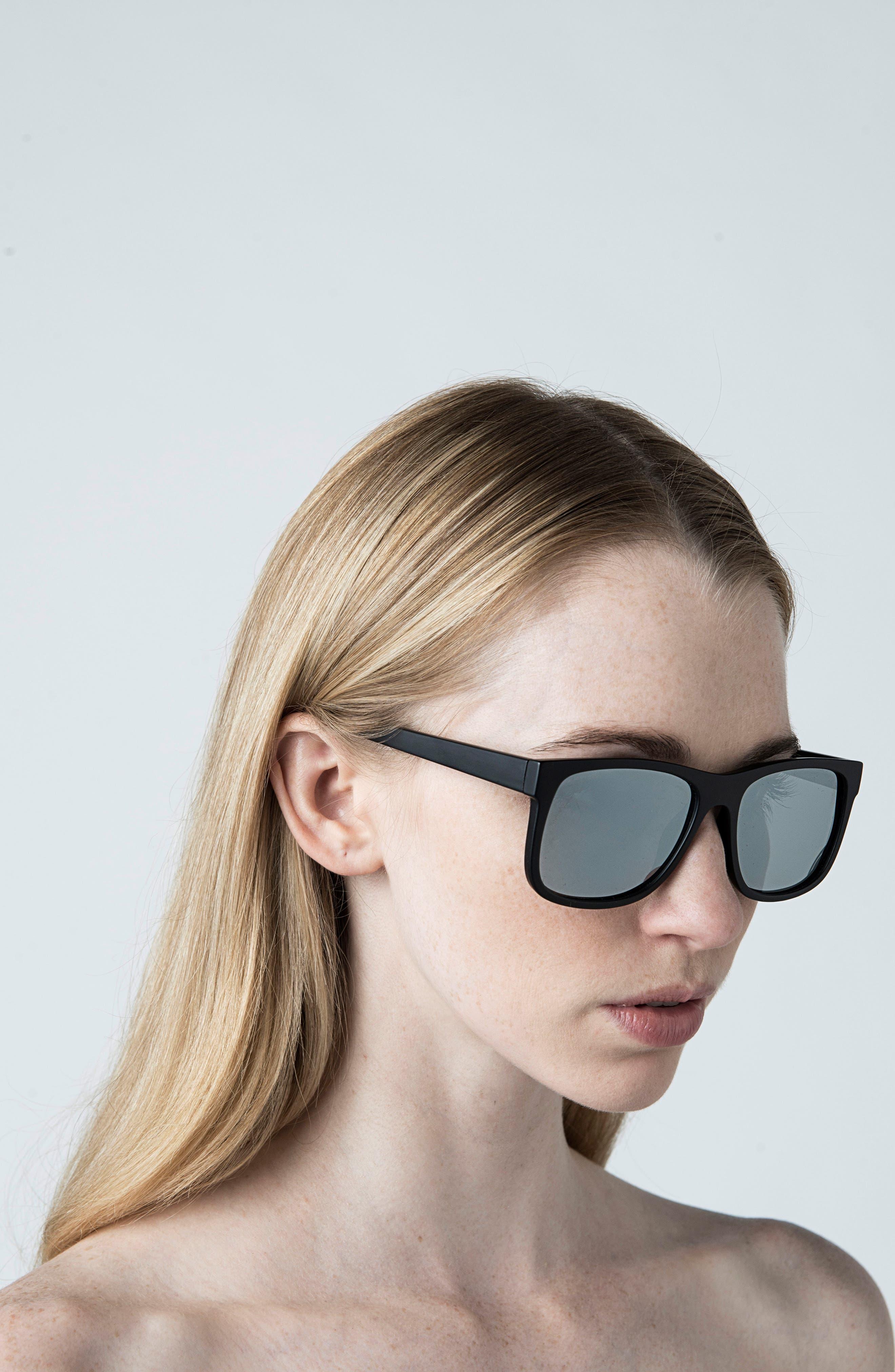 Main 54mm Polarized Sunglasses,                             Alternate thumbnail 3, color,                             001