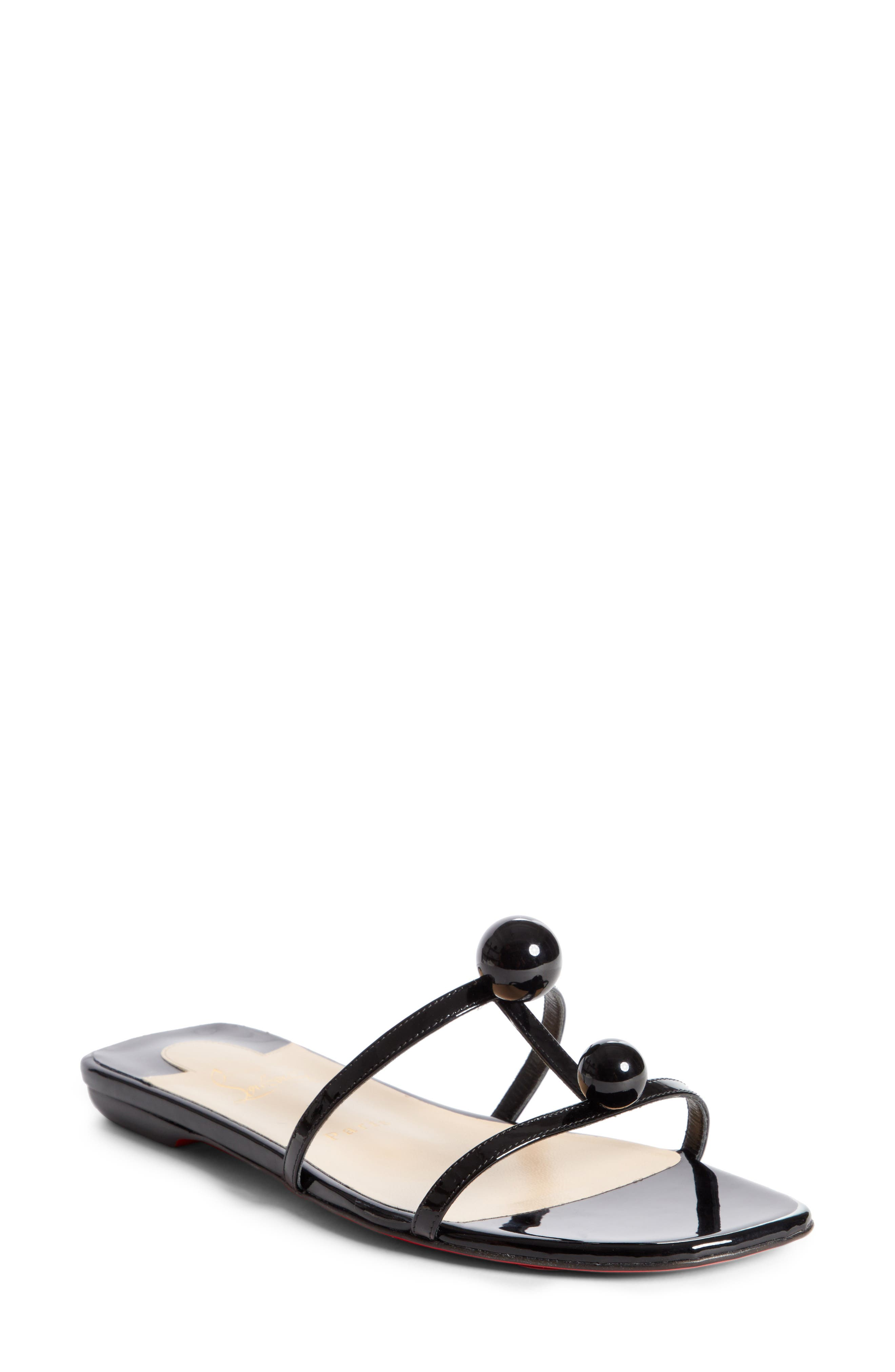 Atonetta Ornament Slide Sandal,                         Main,                         color, 003