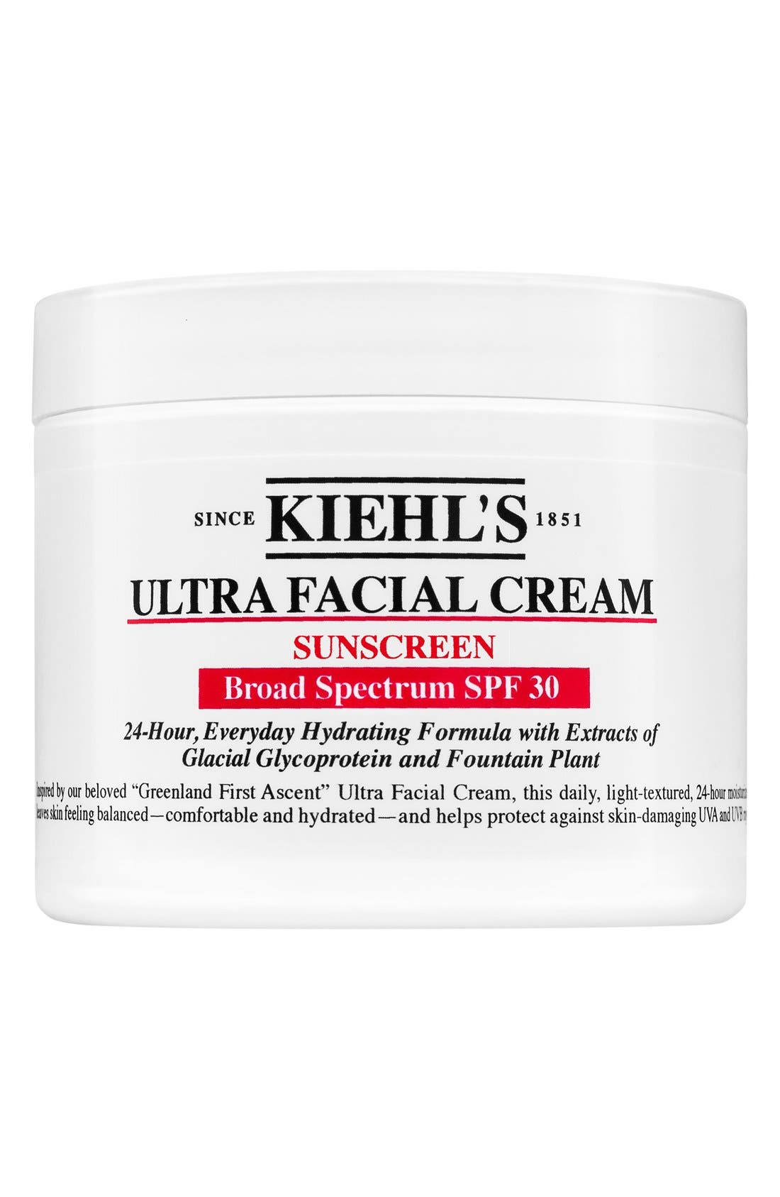 Ultra Facial Cream SPF 30,                             Main thumbnail 1, color,                             NO COLOR