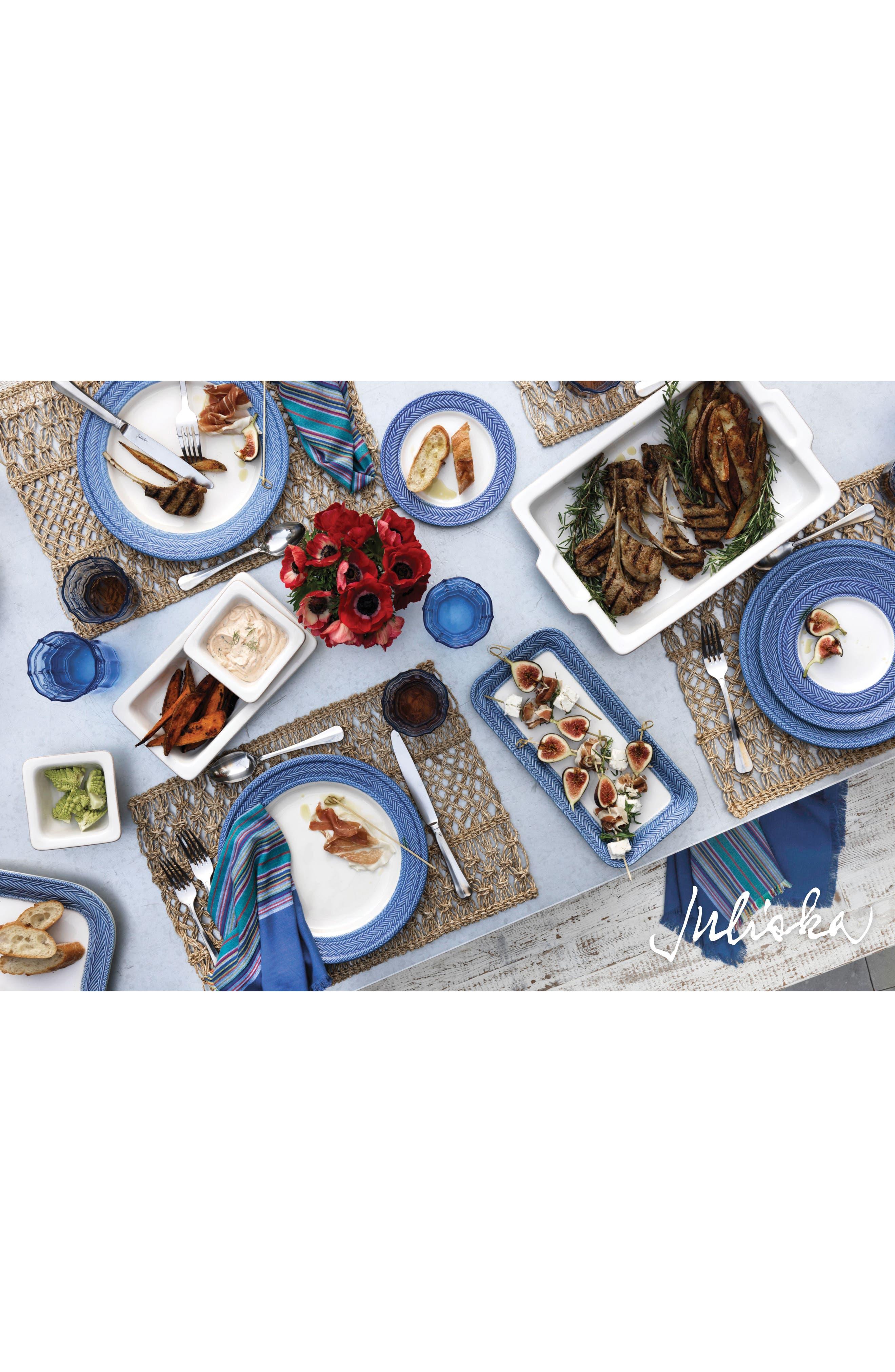 Le Panier Dinner Plate,                             Alternate thumbnail 2, color,                             WHITEWASH/ DELFT BLUE