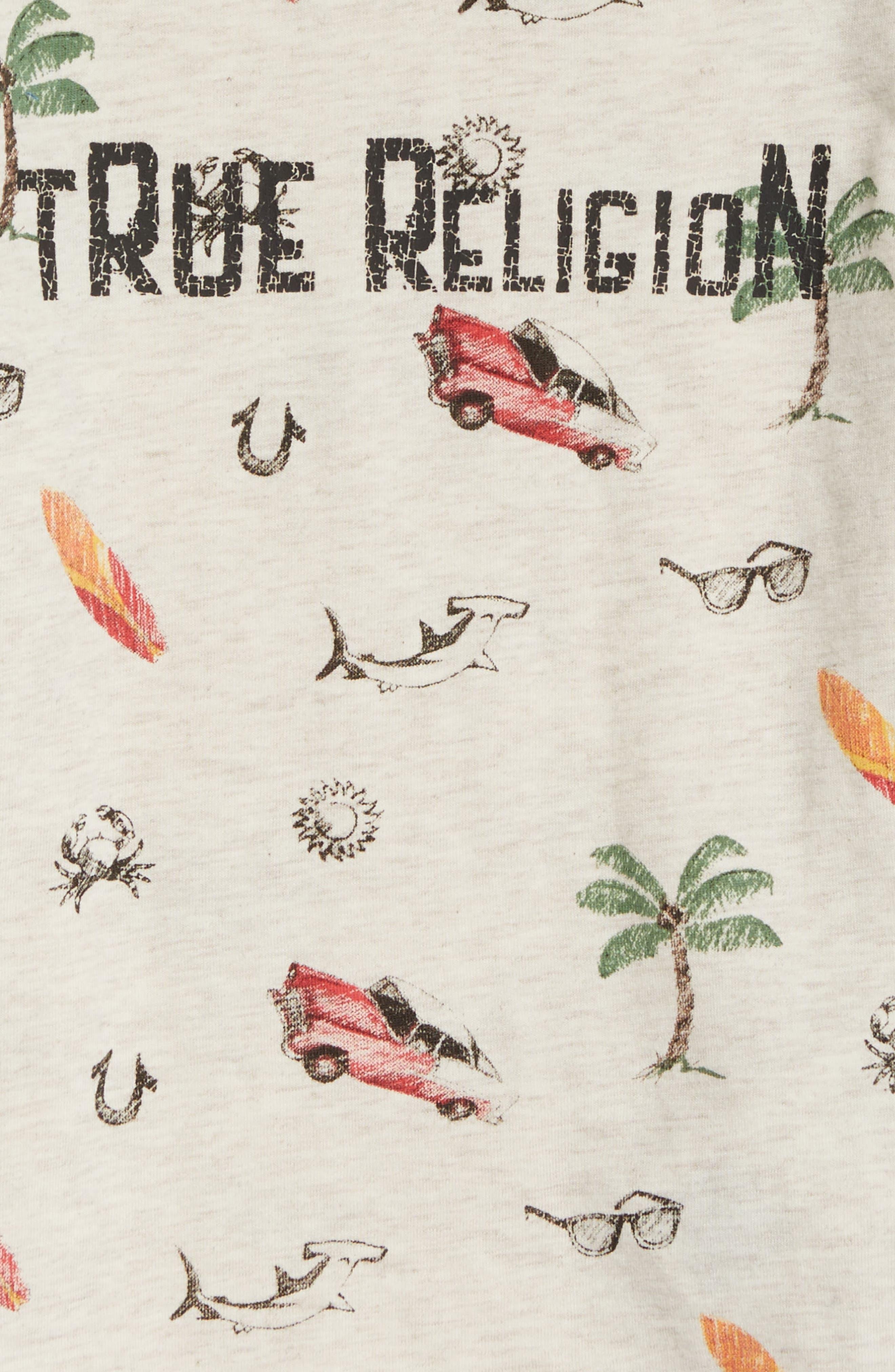 True Religion Retro Doodle T-Shirt,                             Alternate thumbnail 2, color,                             290