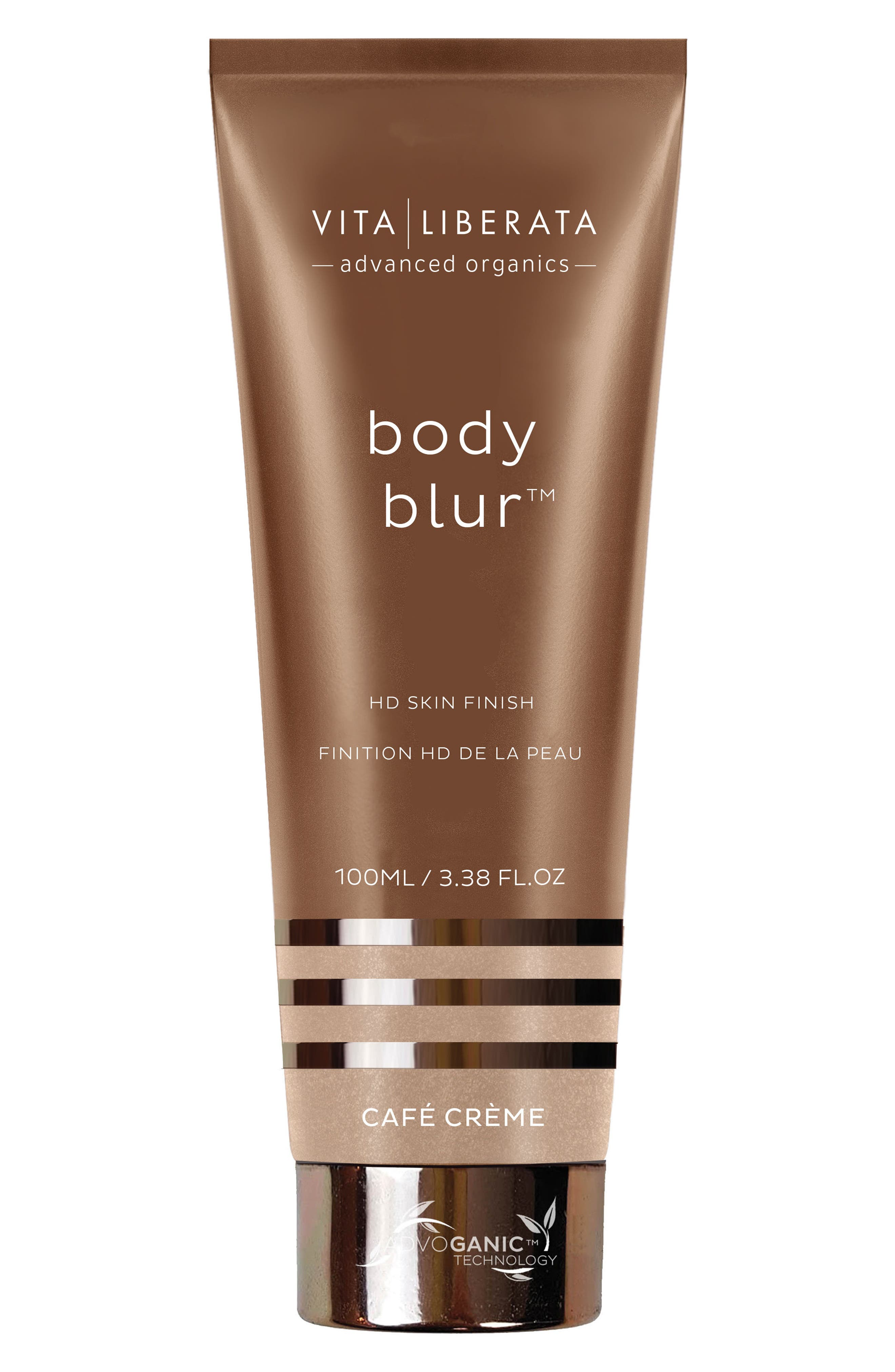 Body Blur Instant HD Skin Finish,                             Main thumbnail 1, color,                             CAFE CREME