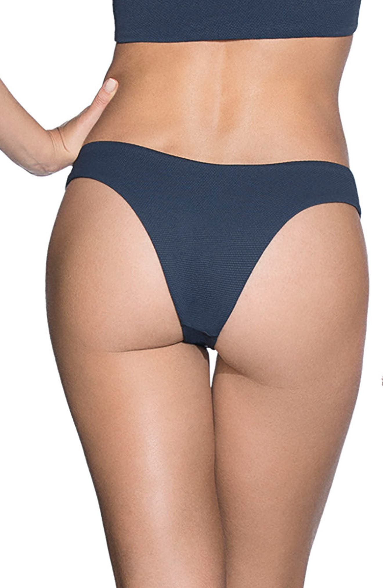 Stargazer Reversible Cheeky Bikini Bottoms,                             Alternate thumbnail 3, color,