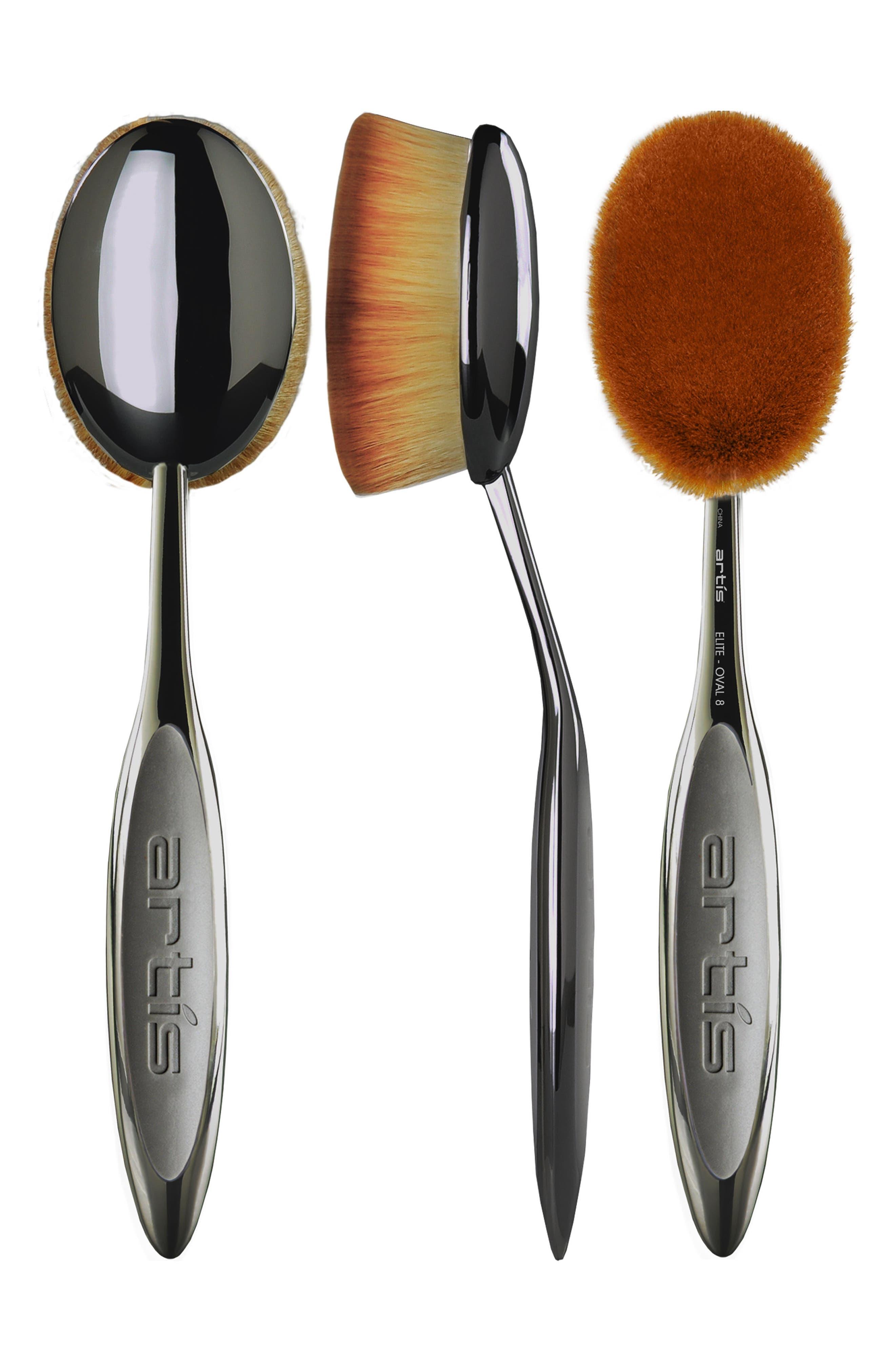 Elite Smoke Oval 8 Brush,                             Alternate thumbnail 4, color,                             NO COLOR