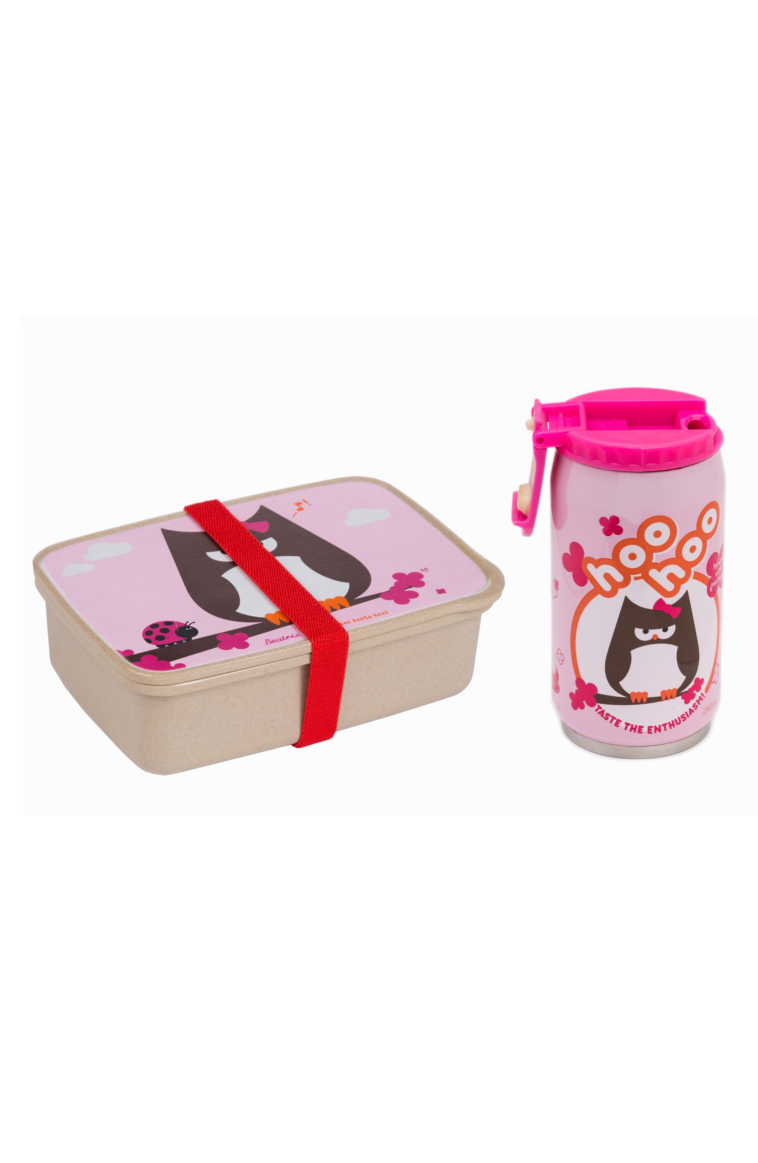 Bento Box & Bottle Set,                             Main thumbnail 1, color,                             200