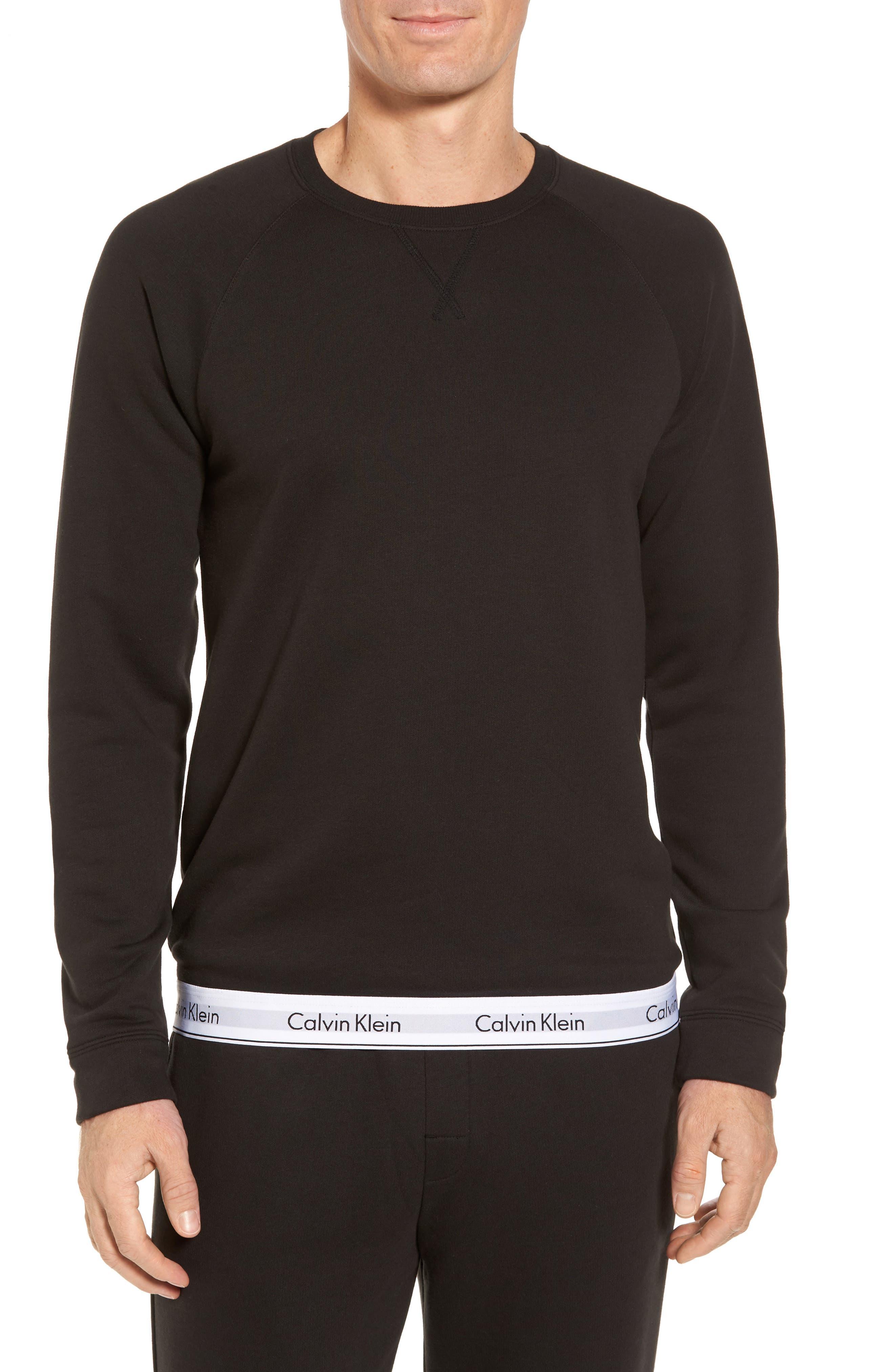 Lounge Crewneck Sweatshirt,                             Main thumbnail 1, color,                             002