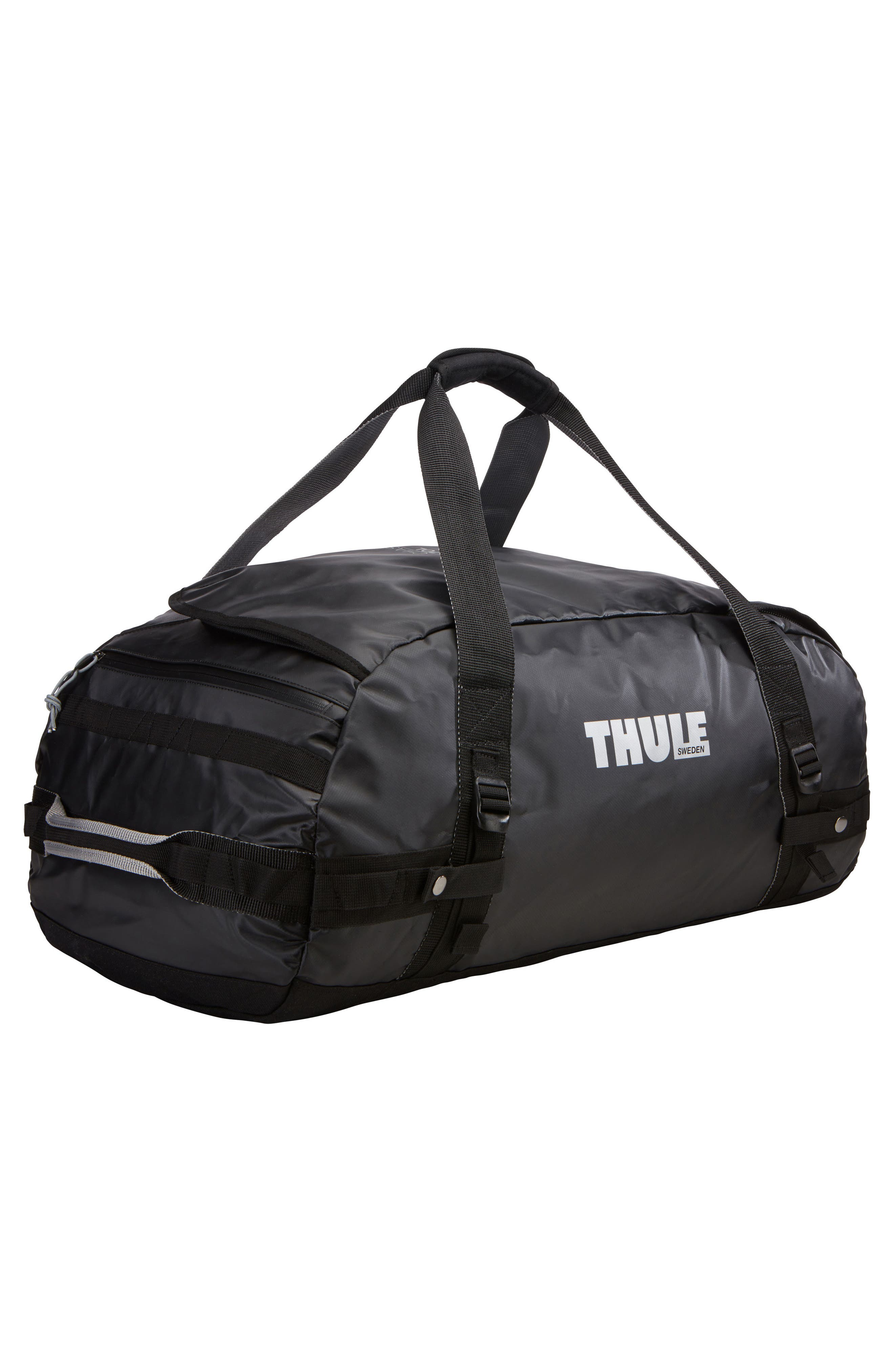 Chasm 70-Liter Convertible Duffel Bag,                             Alternate thumbnail 8, color,                             BLACK
